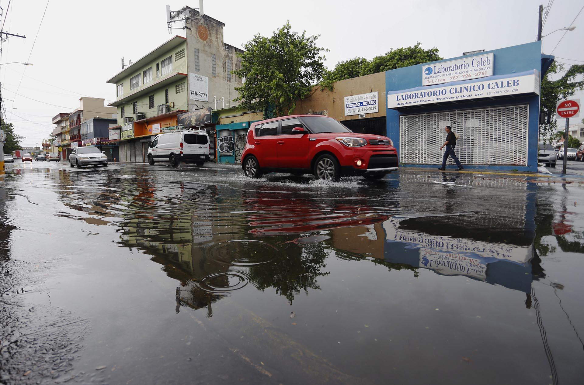 San Juan, antes del impacto de la tormenta (EFE/Thais Llorca)