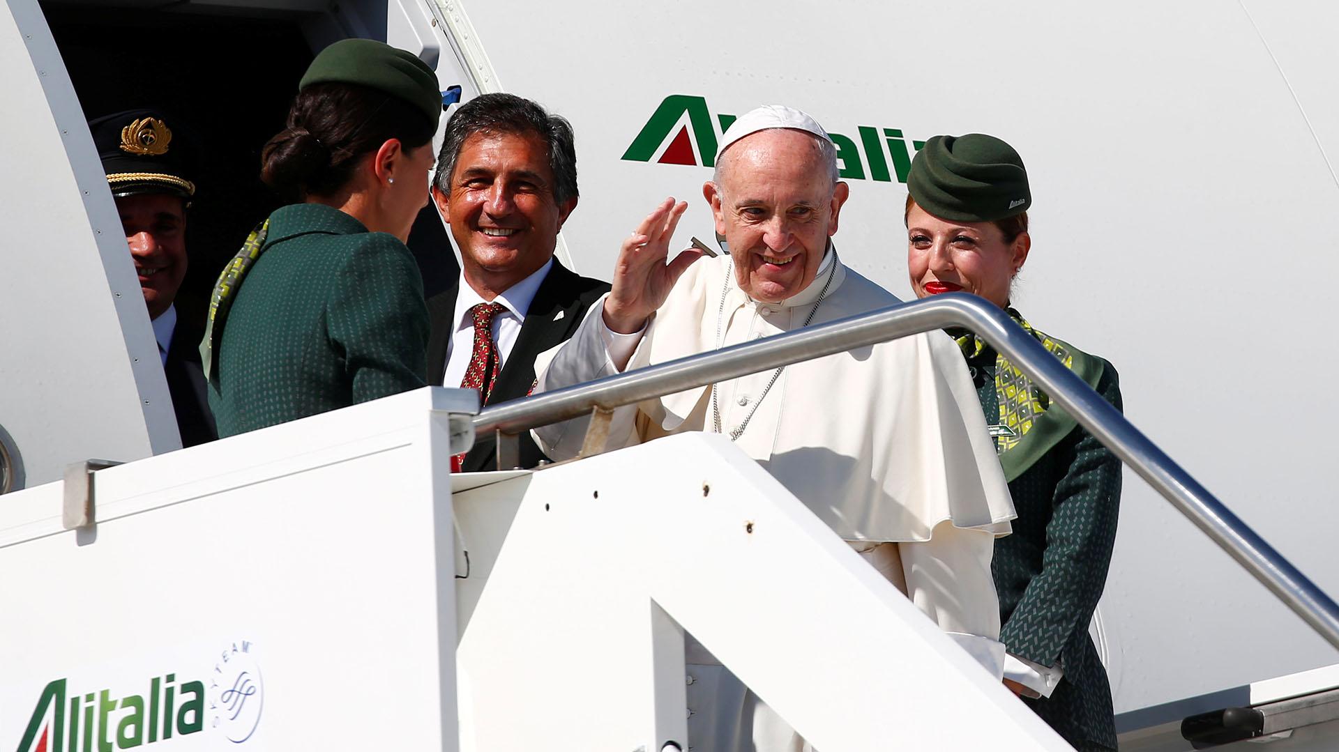 Francisco en Colmobia (REUTERS)