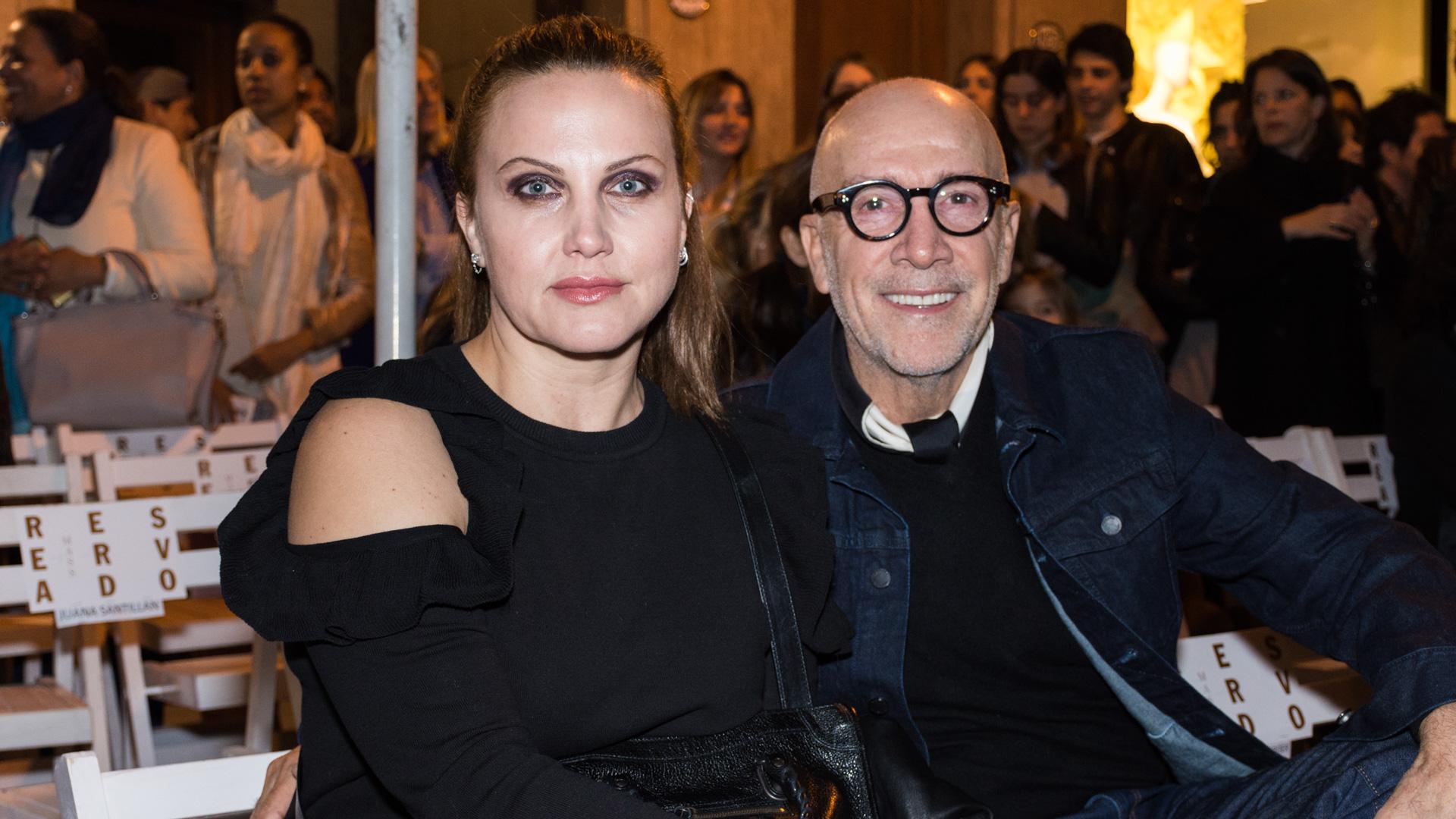 Cora Reutemann y Carlos Entenza
