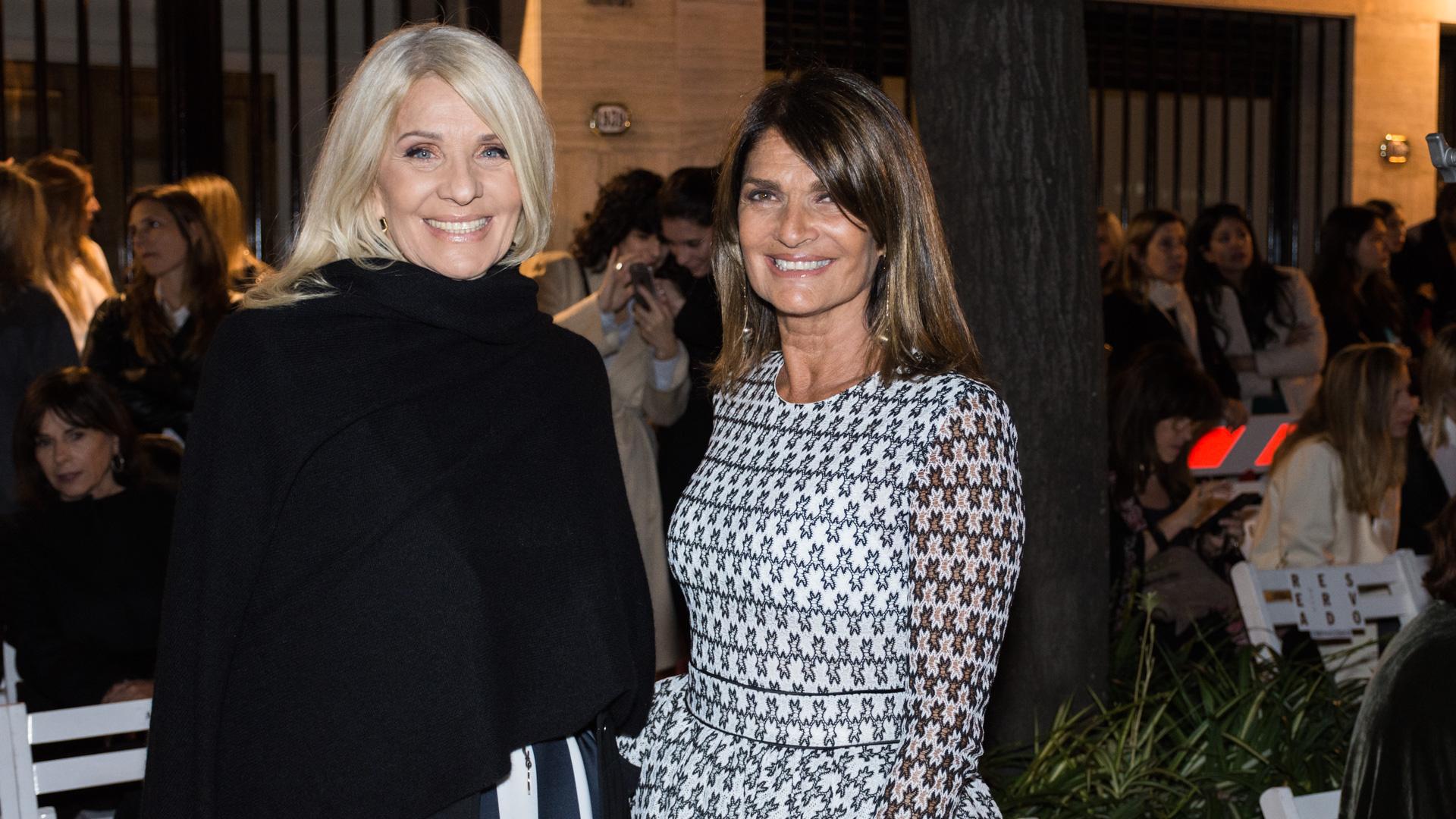 Evelyn Scheidl y Teresa Calandra