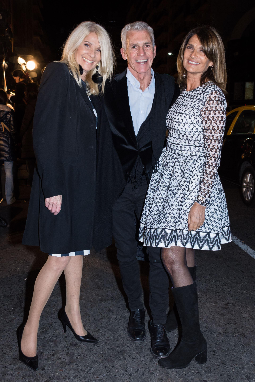 Evelyn Scheidl, Ricardo Piñeiro y Teresa Calandra /// Fotos: Martín Rosenzveig – Grupo Mass PR