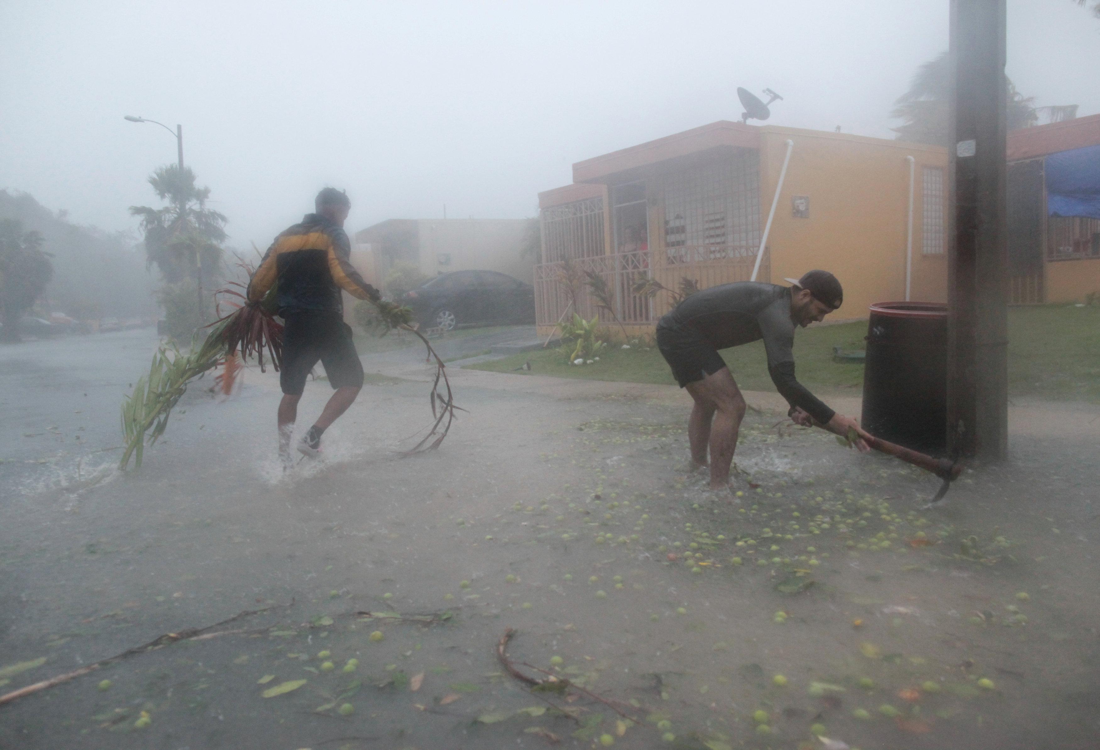 Fajardo, Puerto Rico (REUTERS/Alvin Baez)