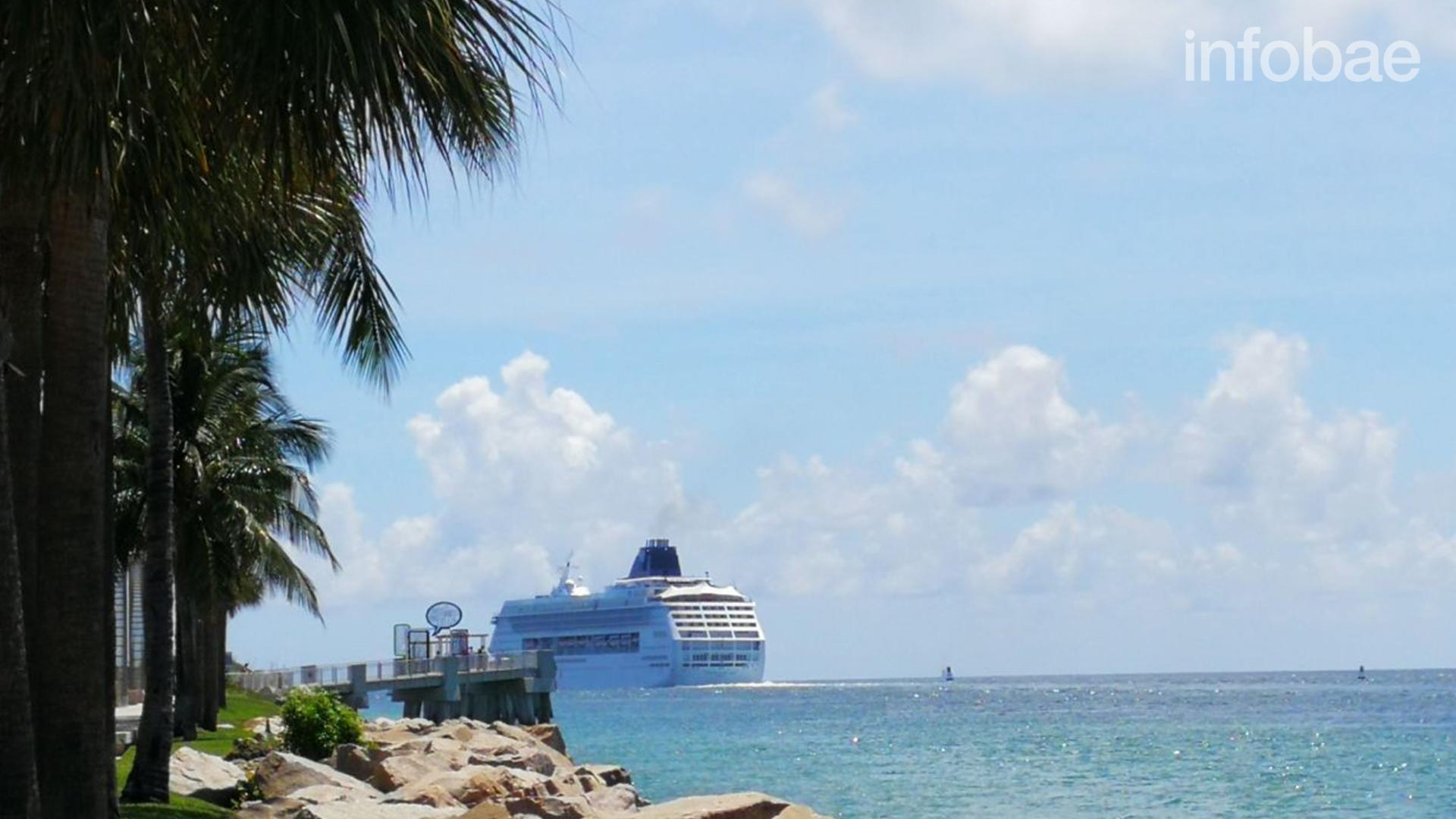 Los cruceros abandonan Miami Beach (Infobae)