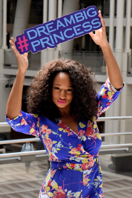 Adrienne Monique Coleman, actriz de Disney Channel, comprometida con la campaña (Meg Schwartz)