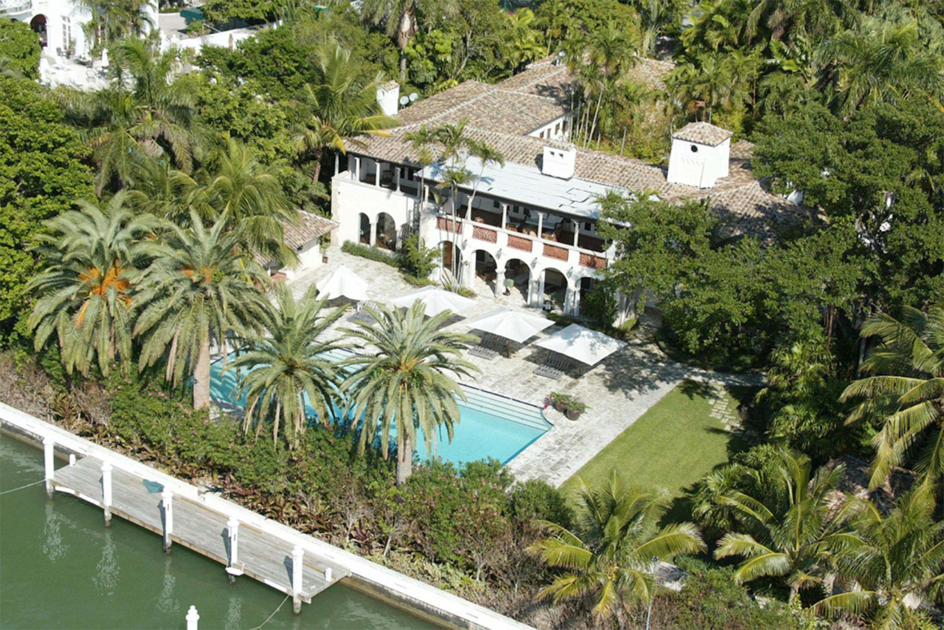 La mansión del cantante Phil Collins en Miami Beach