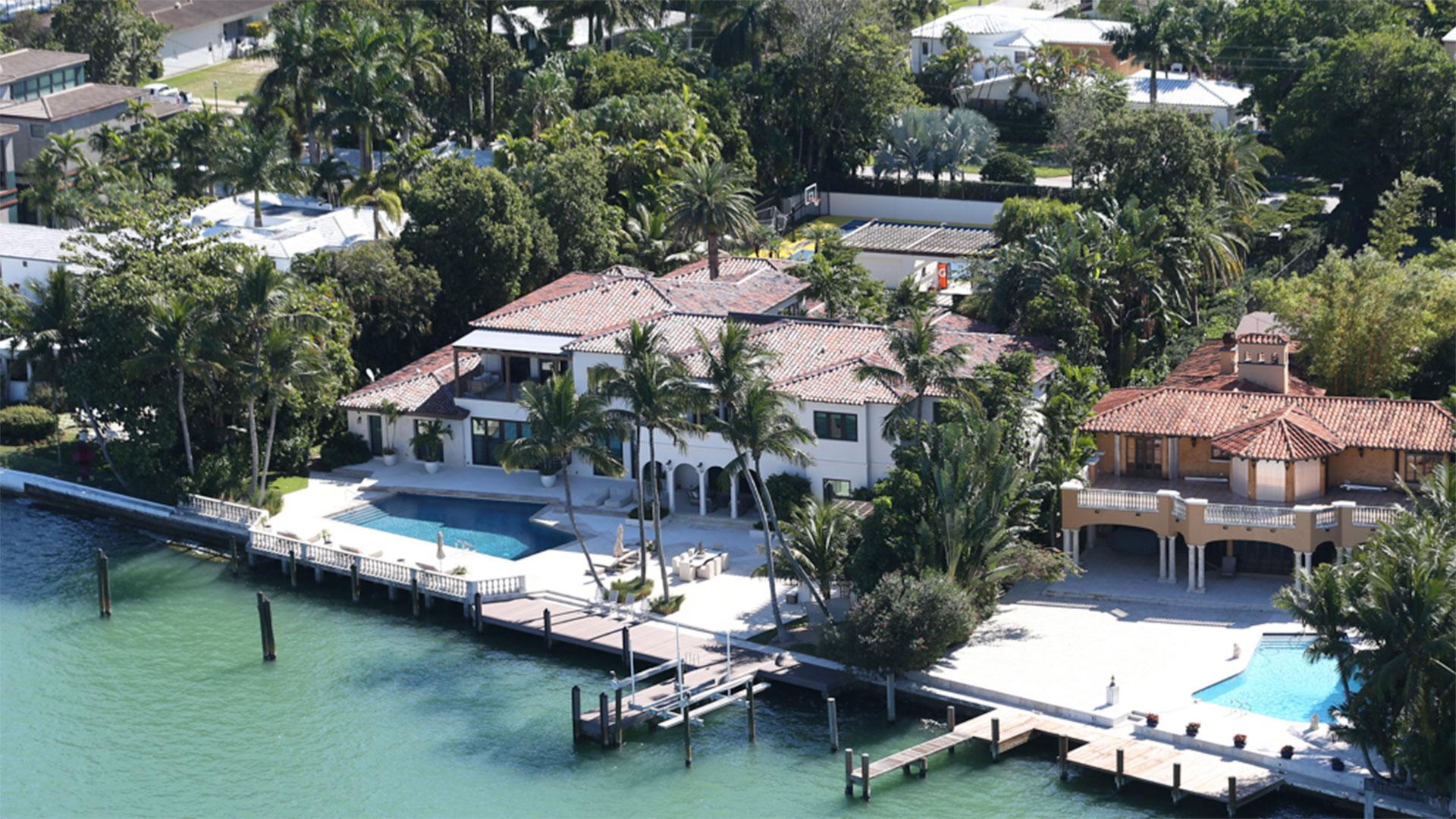 La propiedad de Shakira en Miami
