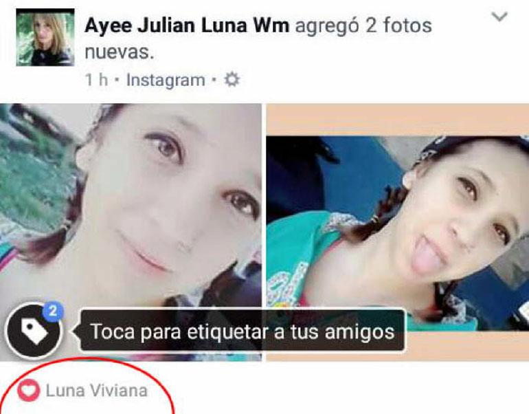 Viviana Luna mujer desaparecida Mendoza SF