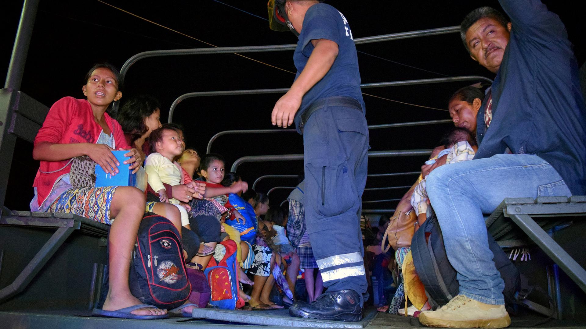 Varias personas son evacuadas en enPuerto Madero, Mexico (Reuters)