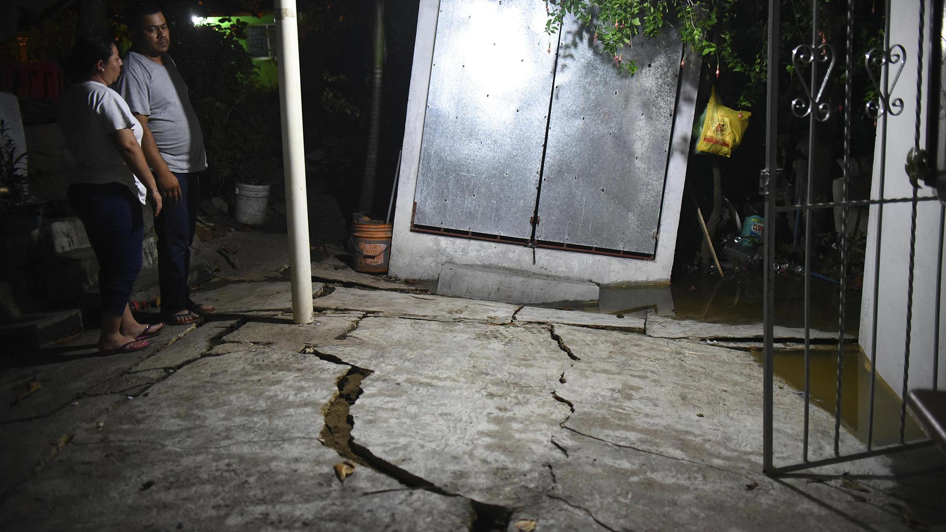 Daños en un hogar de Veracruz (EFE)