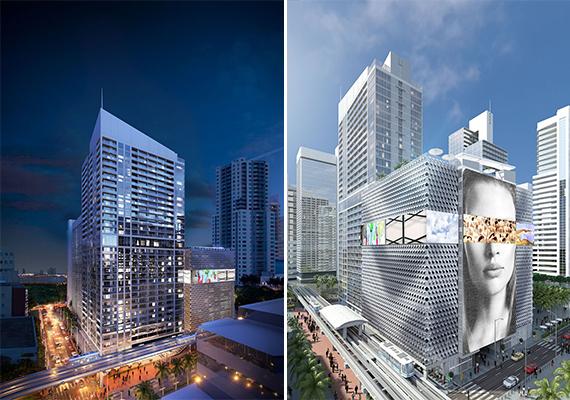 Dos vistas distintas del complejo de departamentos (Property Markets Group)