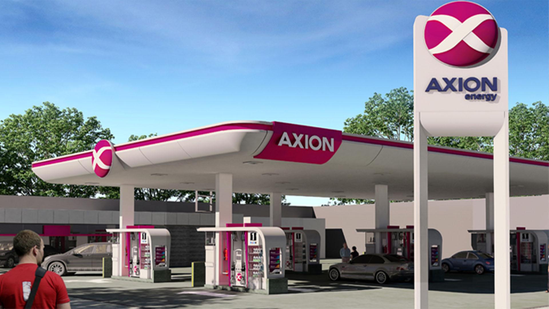 Axion fue la primera petrolera en bajar los precios