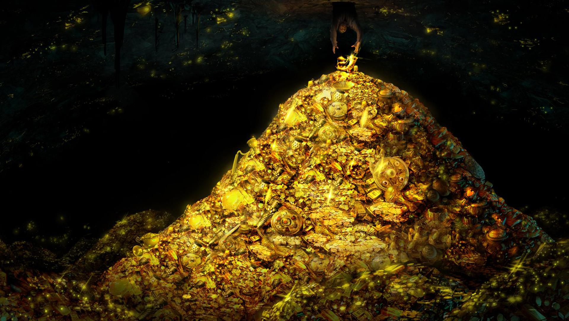 Las otras seis bóvedas tenían tesoros por un valor aproximado 22 mil millones de dólares