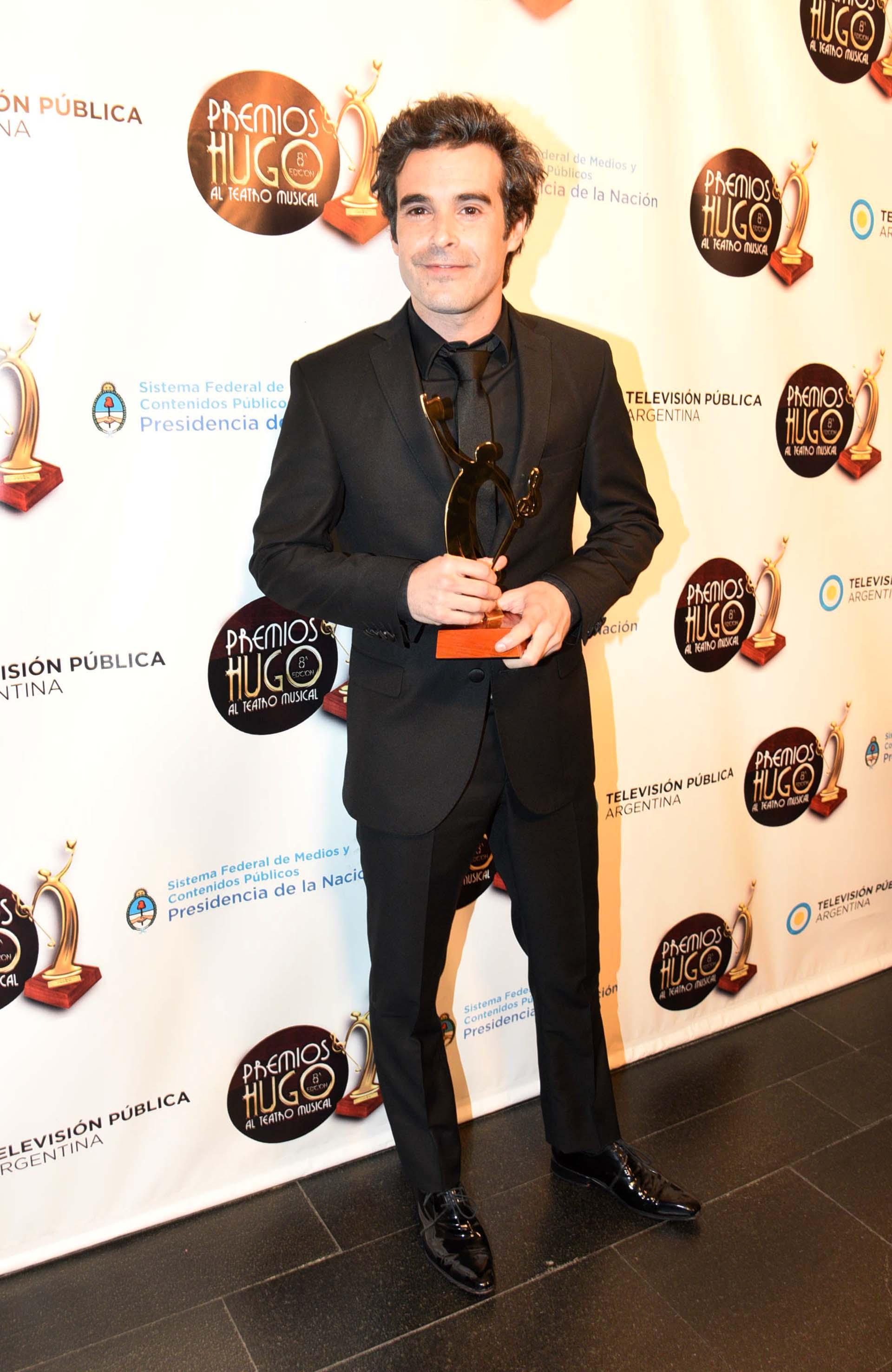"""Nicolás Cabre fue distinguido por su interpretación en """"Sugar"""" en los premios Hugo"""