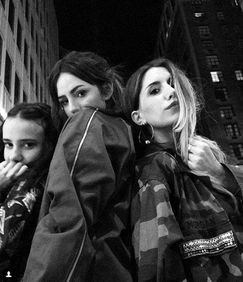 Tatiana, Candelaria y Micaela