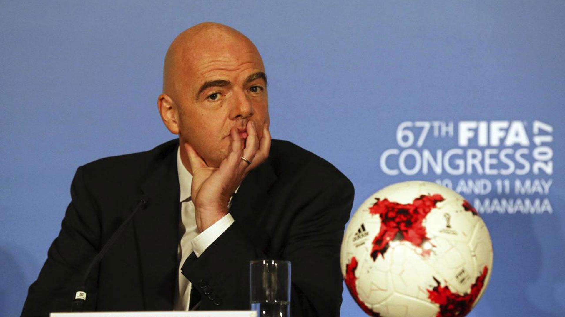 Infantino asumió como presidente de la FIFA bajó un discurso de transparencia