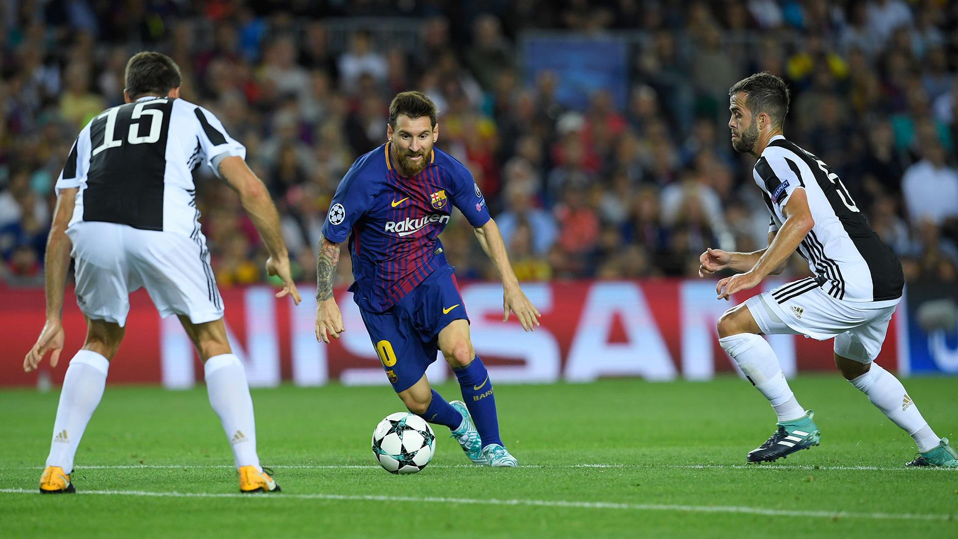 Messi fue figura en la goleada del Barcelona sobre Juventus (AFP)