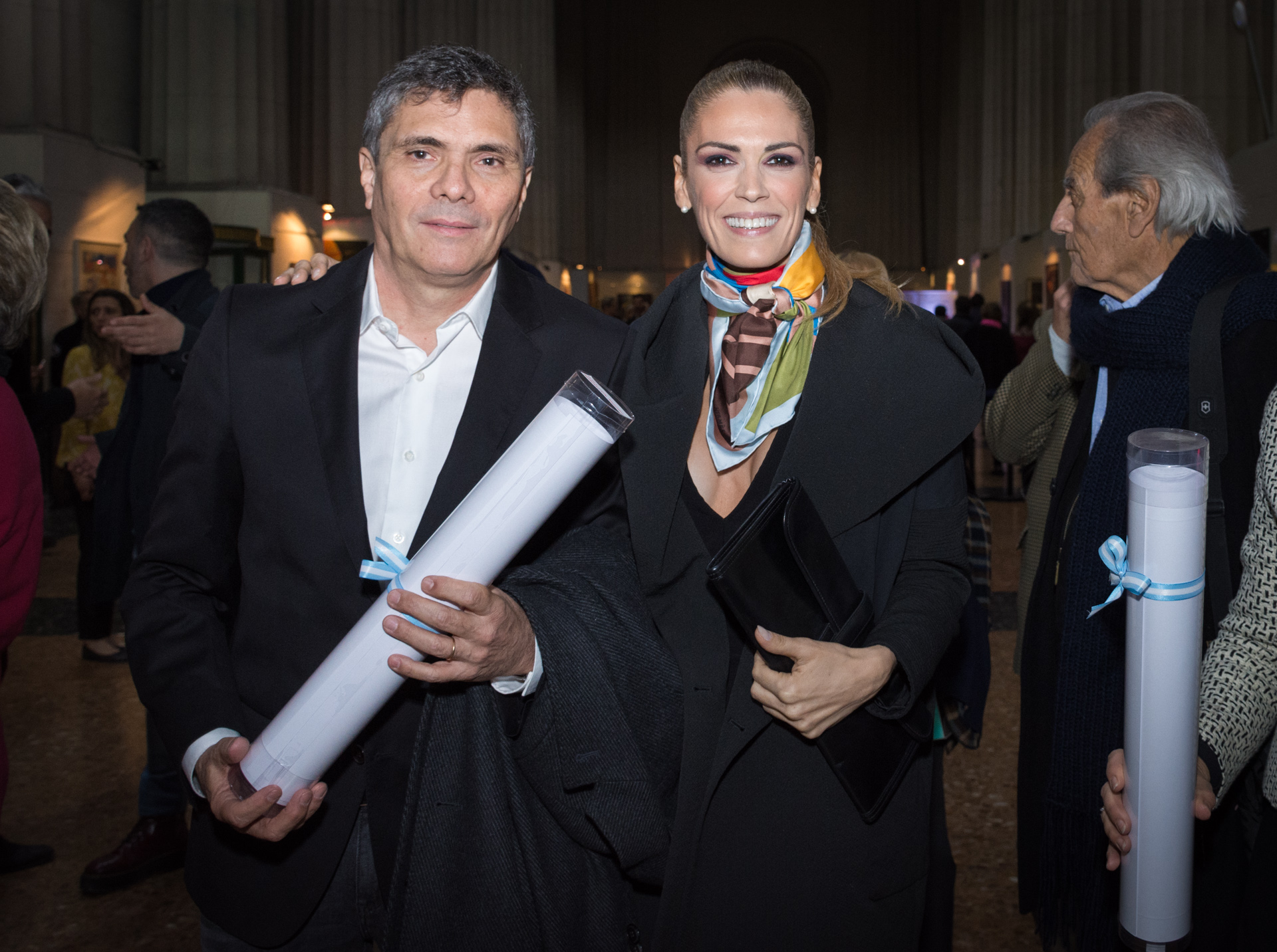 Alejandro Borensztein y Viviana Canosa