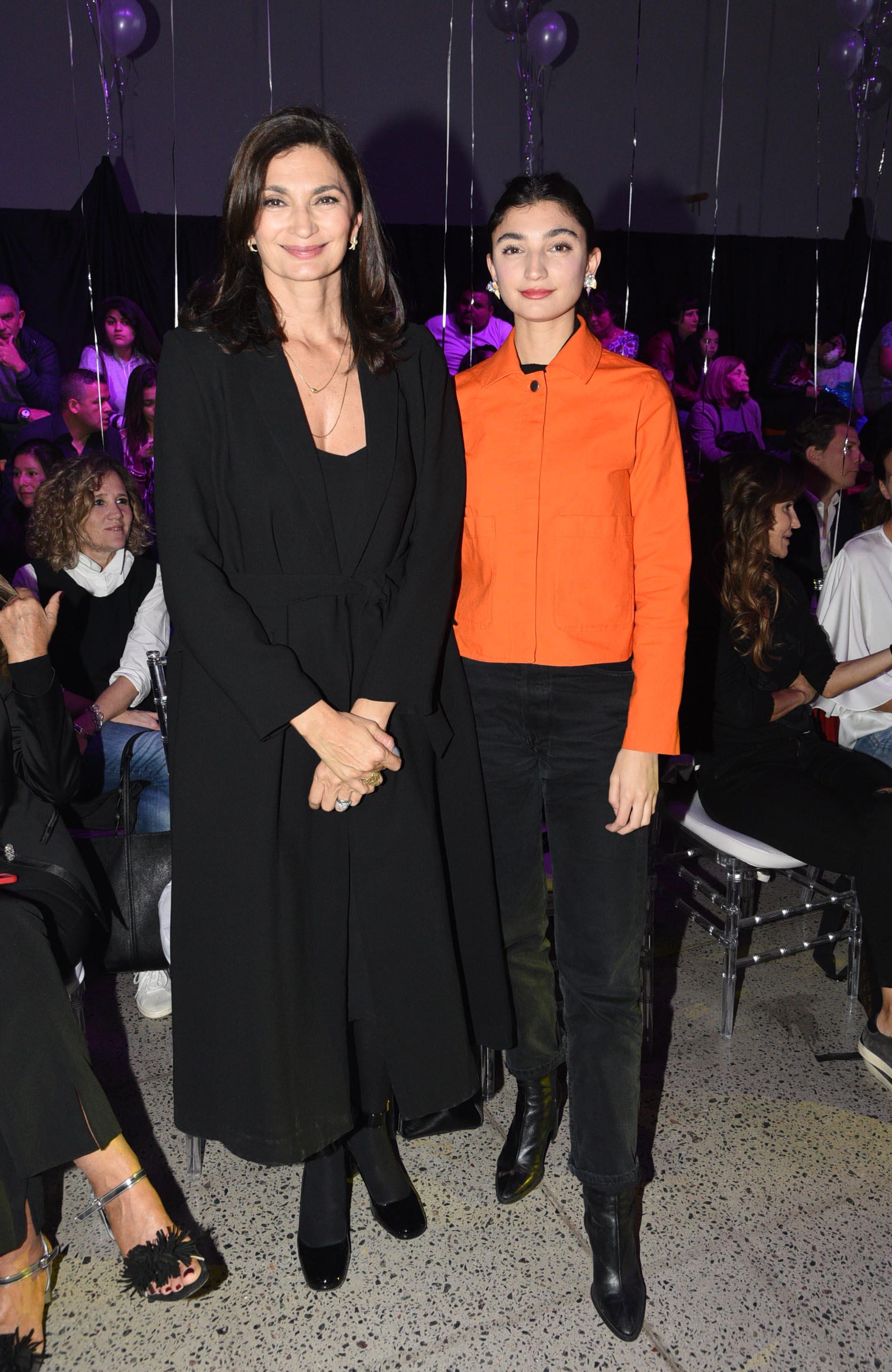 Mariana Arias y su hija Paloma