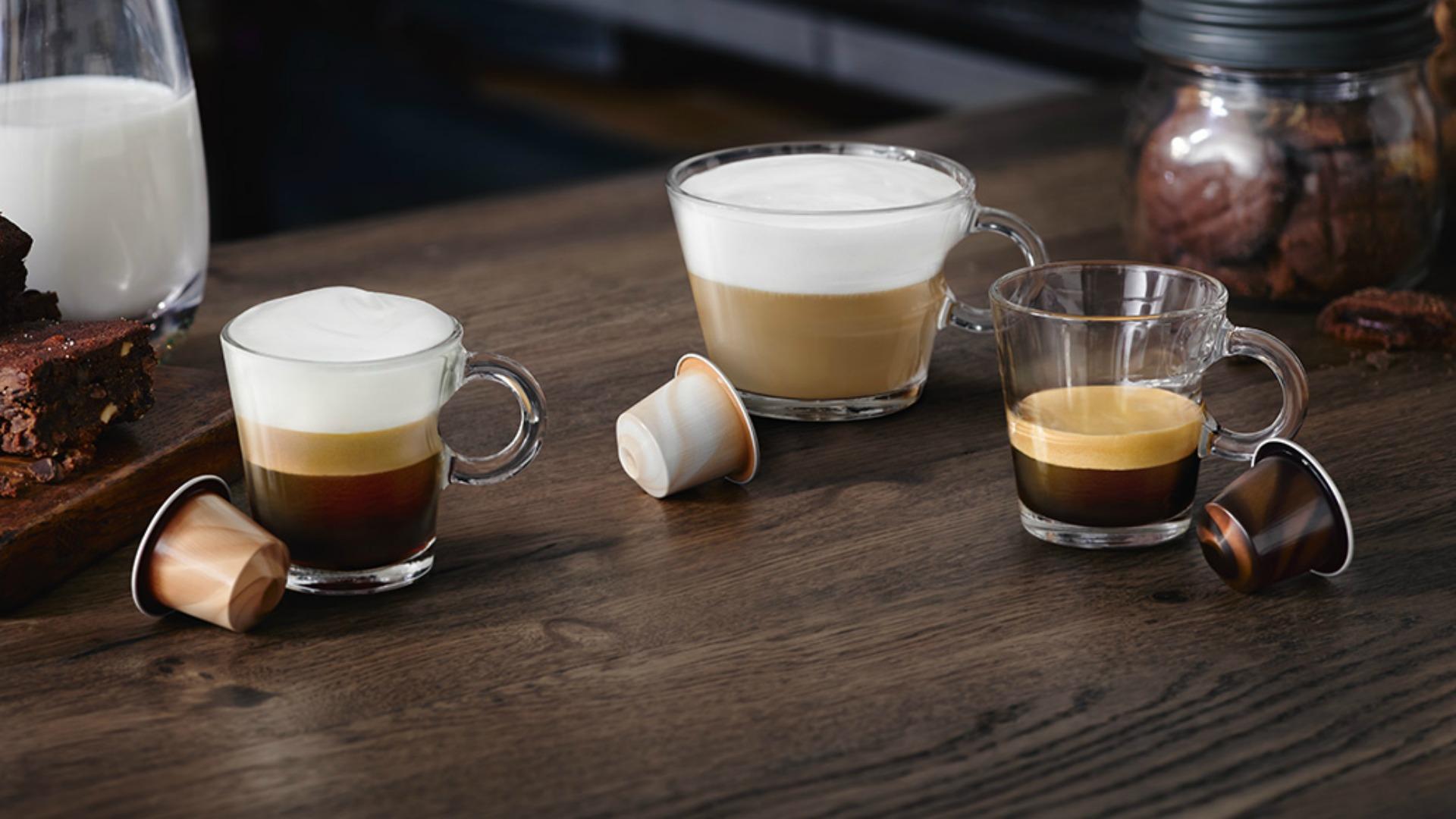 Barista Chiaro, Barista Scuro y Barista Corto. Las tres ediciones limitadas de Nespresso.