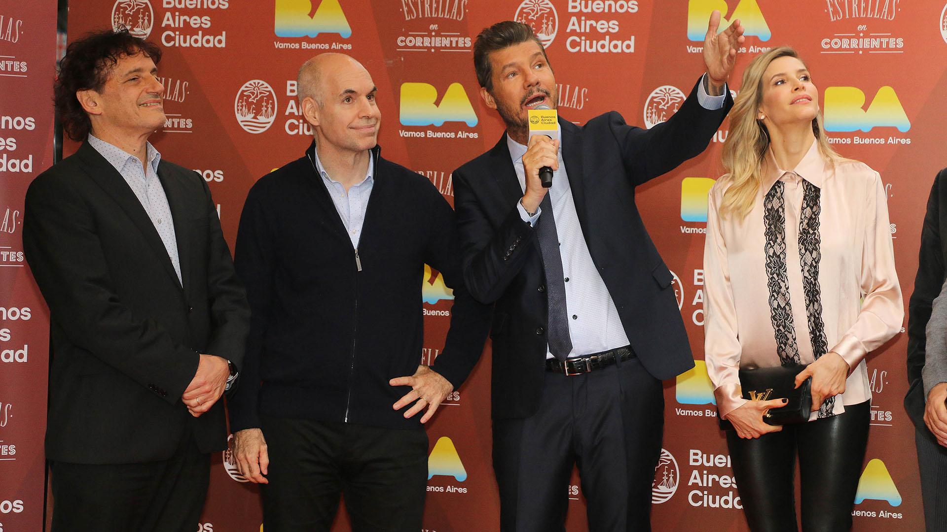 """""""Orgulloso de tener mi Estrella en la calle Corrientes. Gracias @horaciorlarreta @angel_mahler @edumacchiavelli"""", posteó Marcelo en su cuenta de Twitter"""