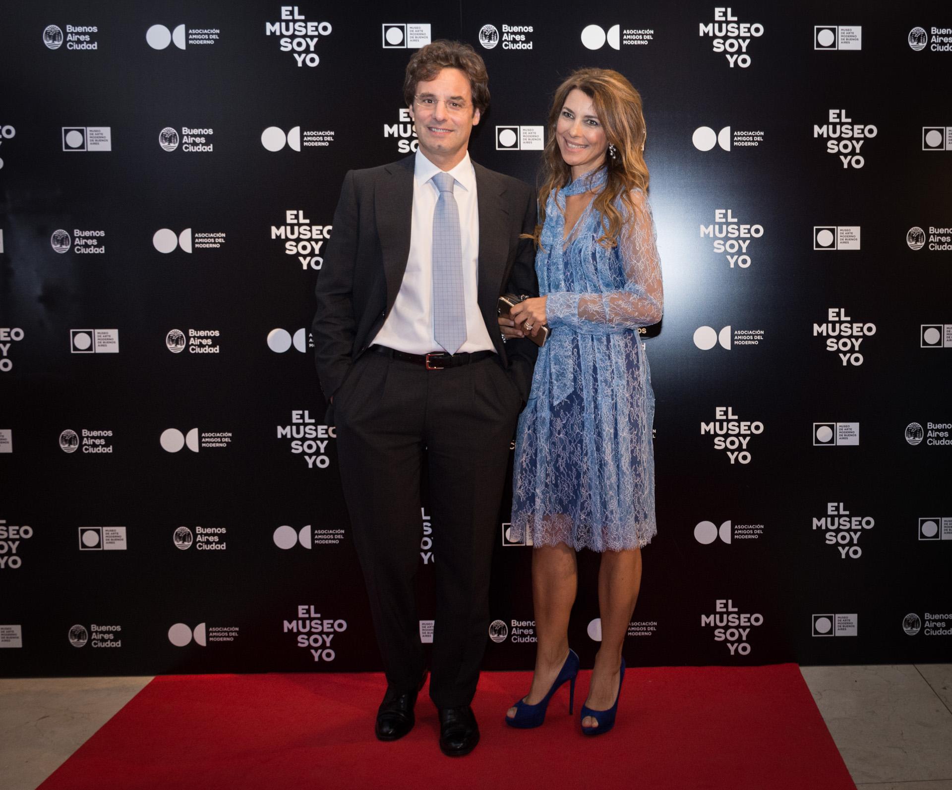 Ludovico Rocca y Adriana Batan de Rocca. La Asociación continúa, como todos los años, brindando su apoyo para eventos especiales y la difusión de valiosas obras de arte moderno y contemporáneo argentino e internacional