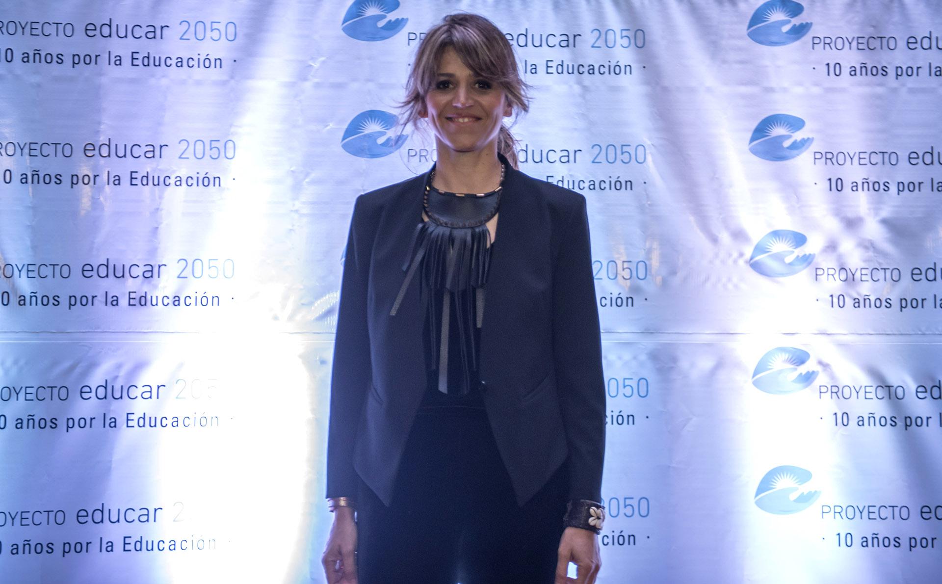 María Freytes estuvo a cargo de la conducción del evento /// Fotos: Educar 2050