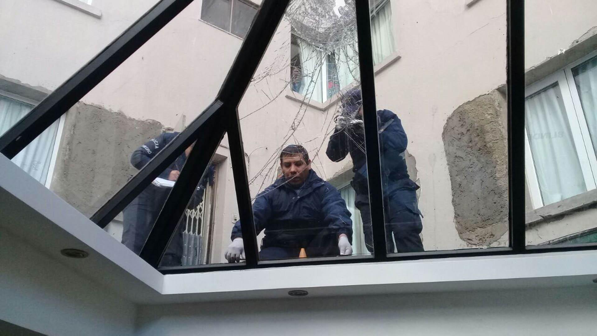 Cayó de un quinto piso en su viaje de egresados — Bariloche