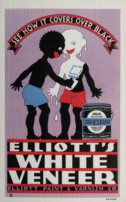 """""""Mira cómo cubre al negro. El revestimiento blanco de Elliot"""""""
