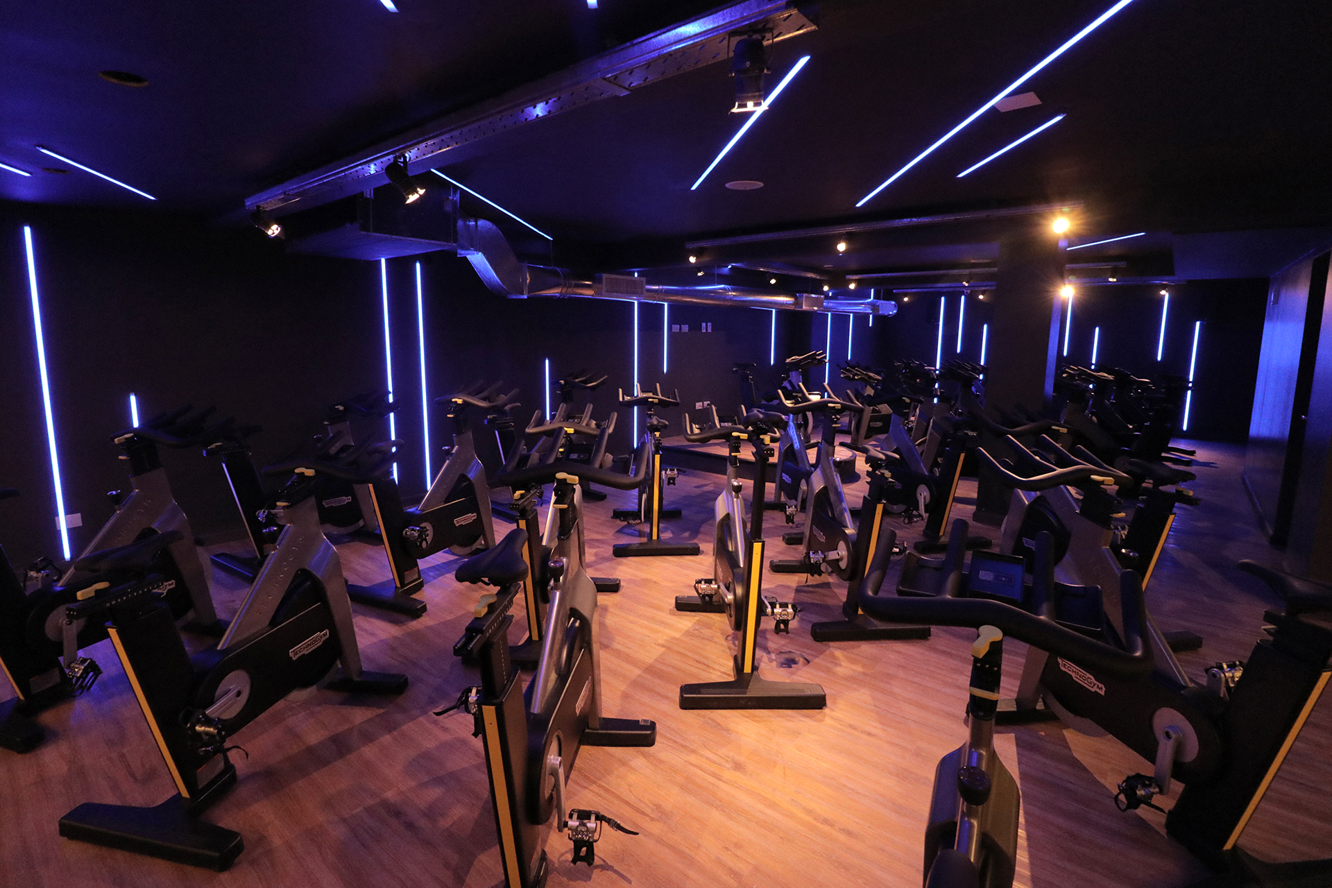 El salón de Indoor Cycle