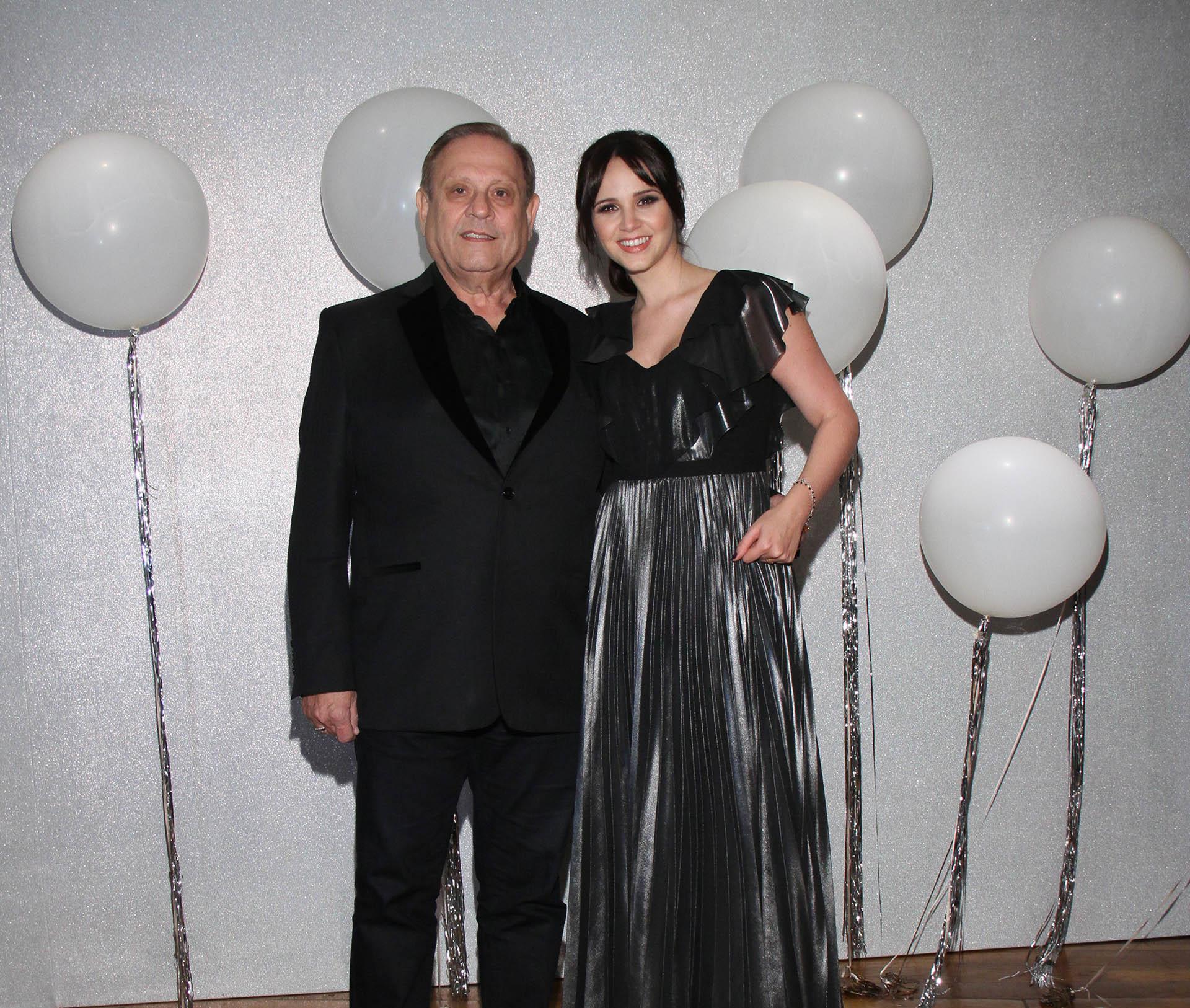 Natalí Márquez junto a su marido, Néstor Abatidaga, director general corporativo del Grupo Sancor Seguros