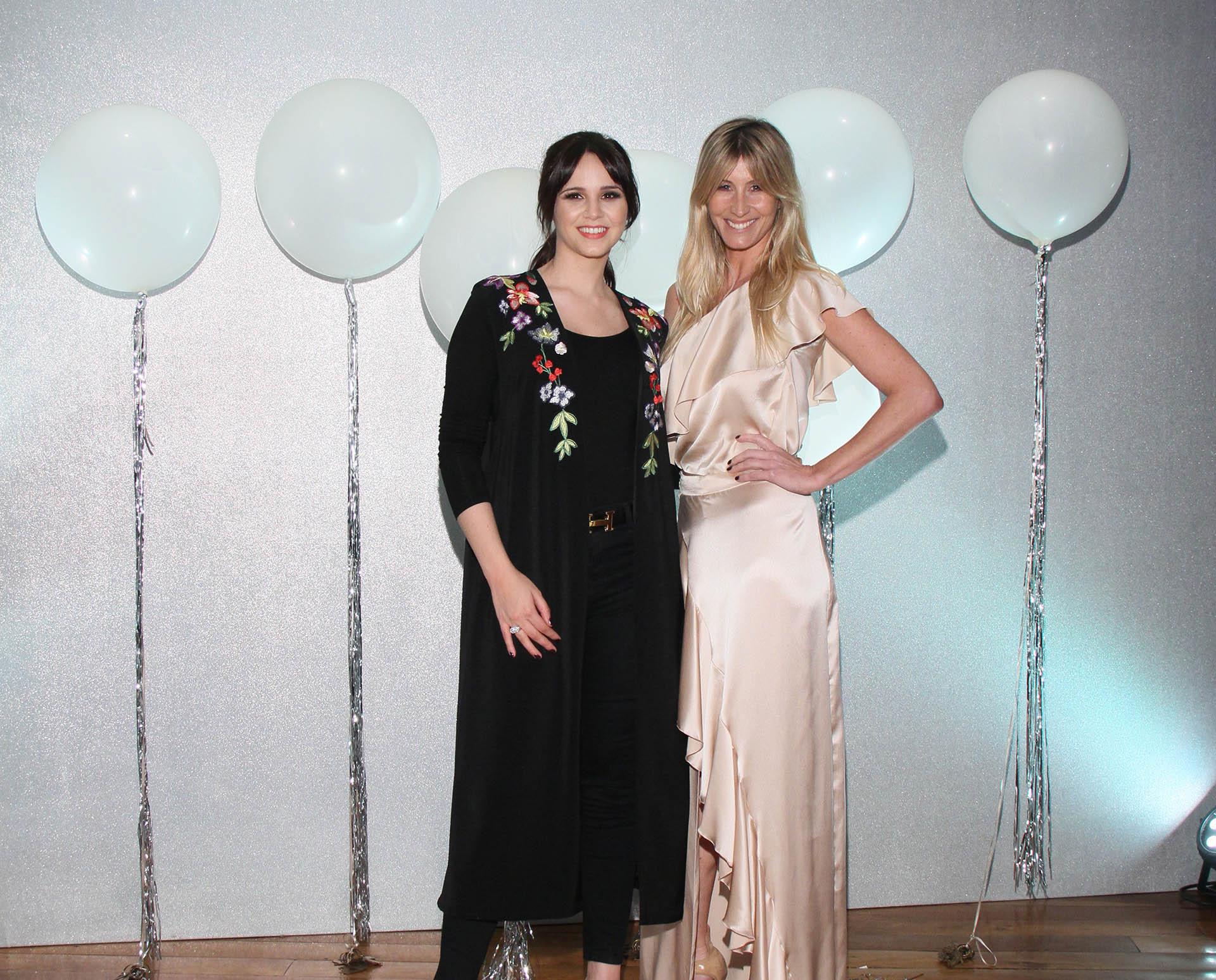 Natalí Márquez y Soledad Solaro