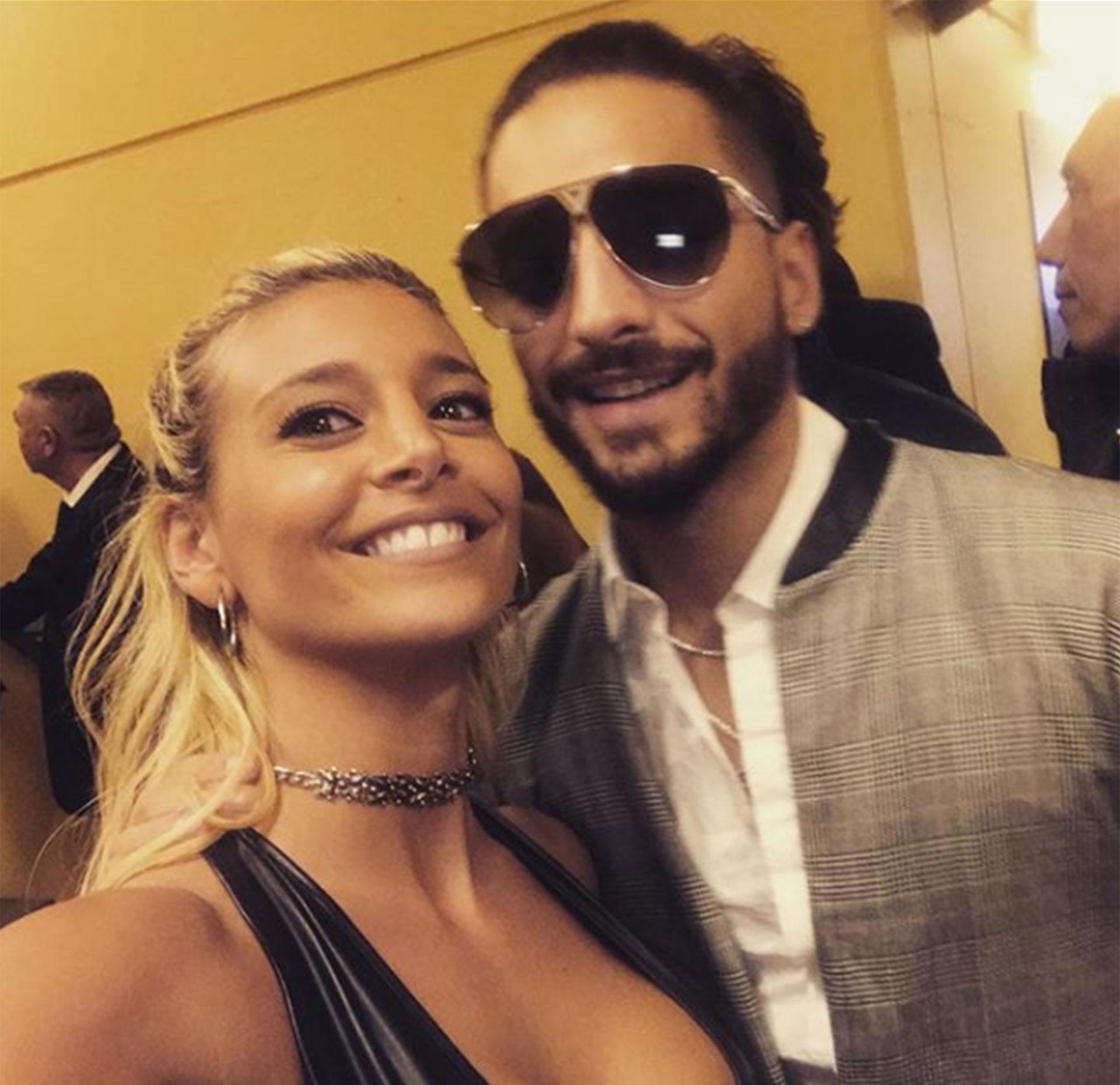 La selfie que le gustó al cantante