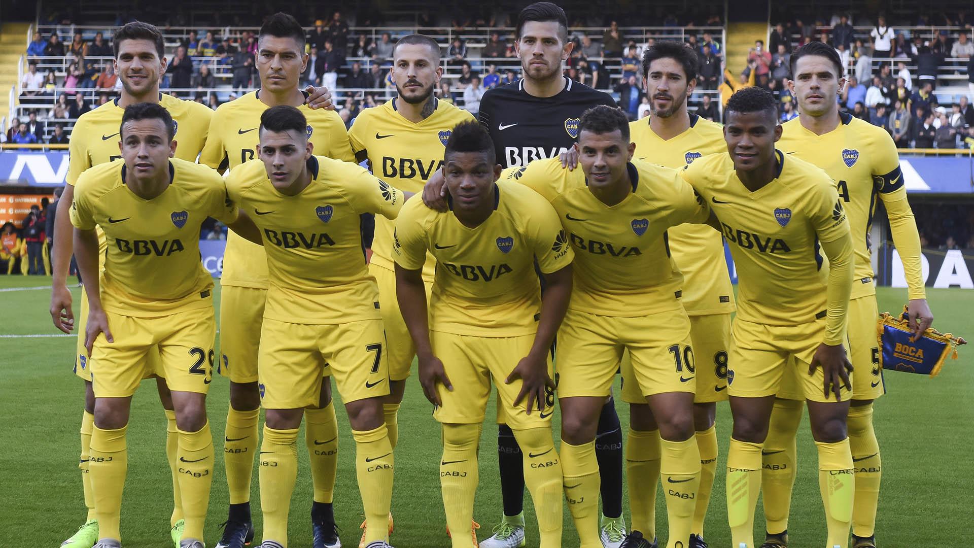 """El """"equipo de memoria"""" con el que arrancó Boca la temporada (Foto: Getty Images)"""