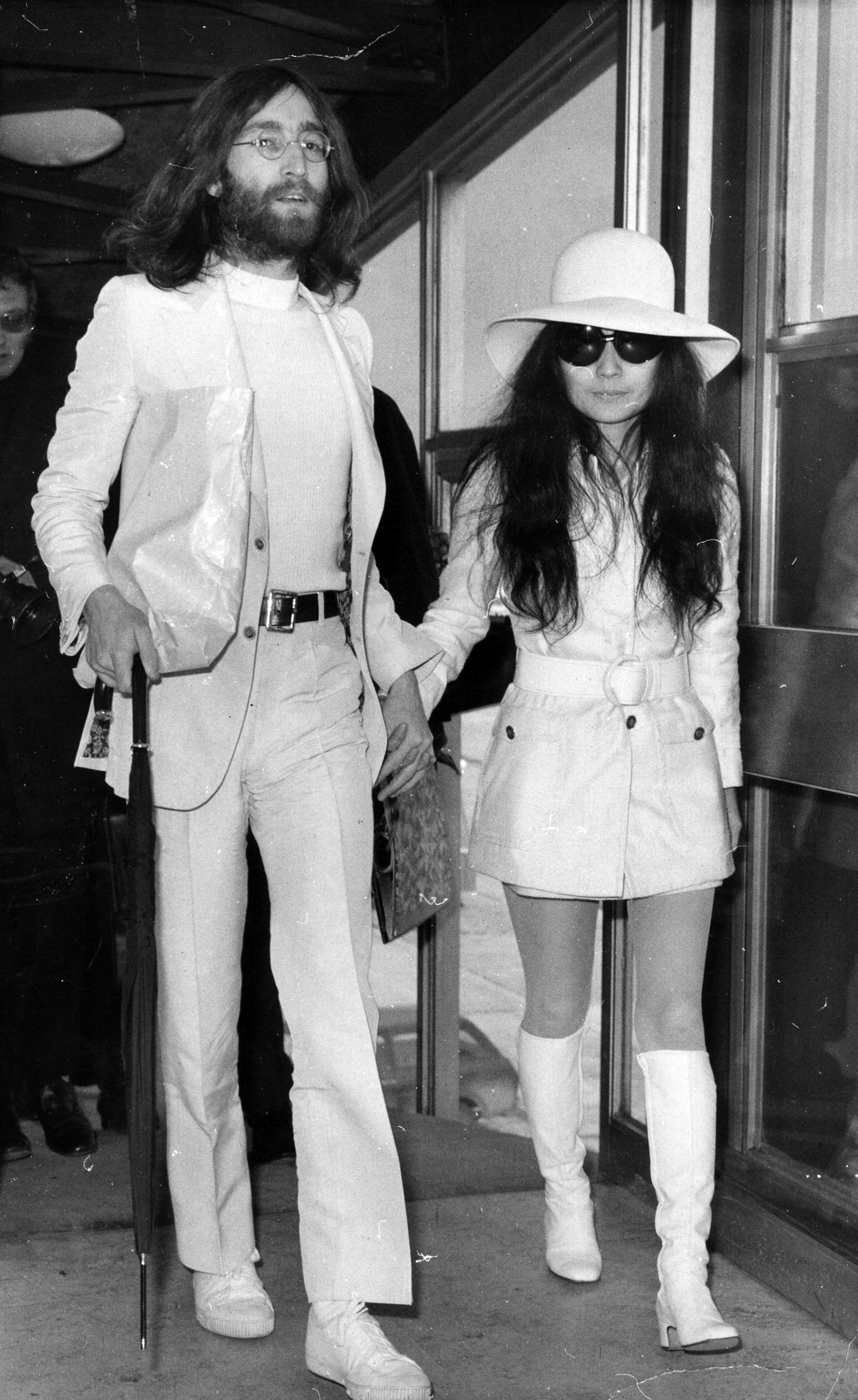 En 1969 John Lennon y Yoko Ono también apoyaron el movimiento a favor de la liberación femenina (Getty Images)