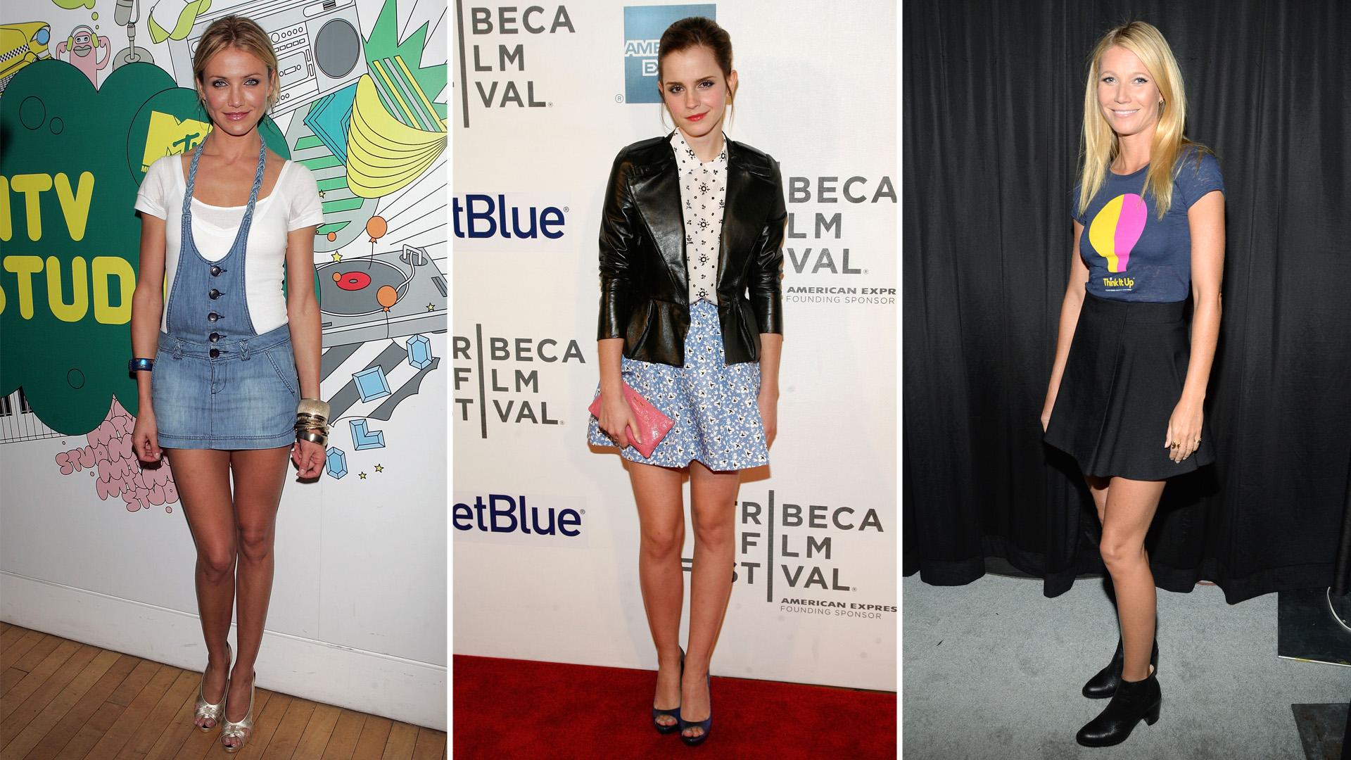 La minifalda sigue siendo una pieza adoptada por el mundo femenino