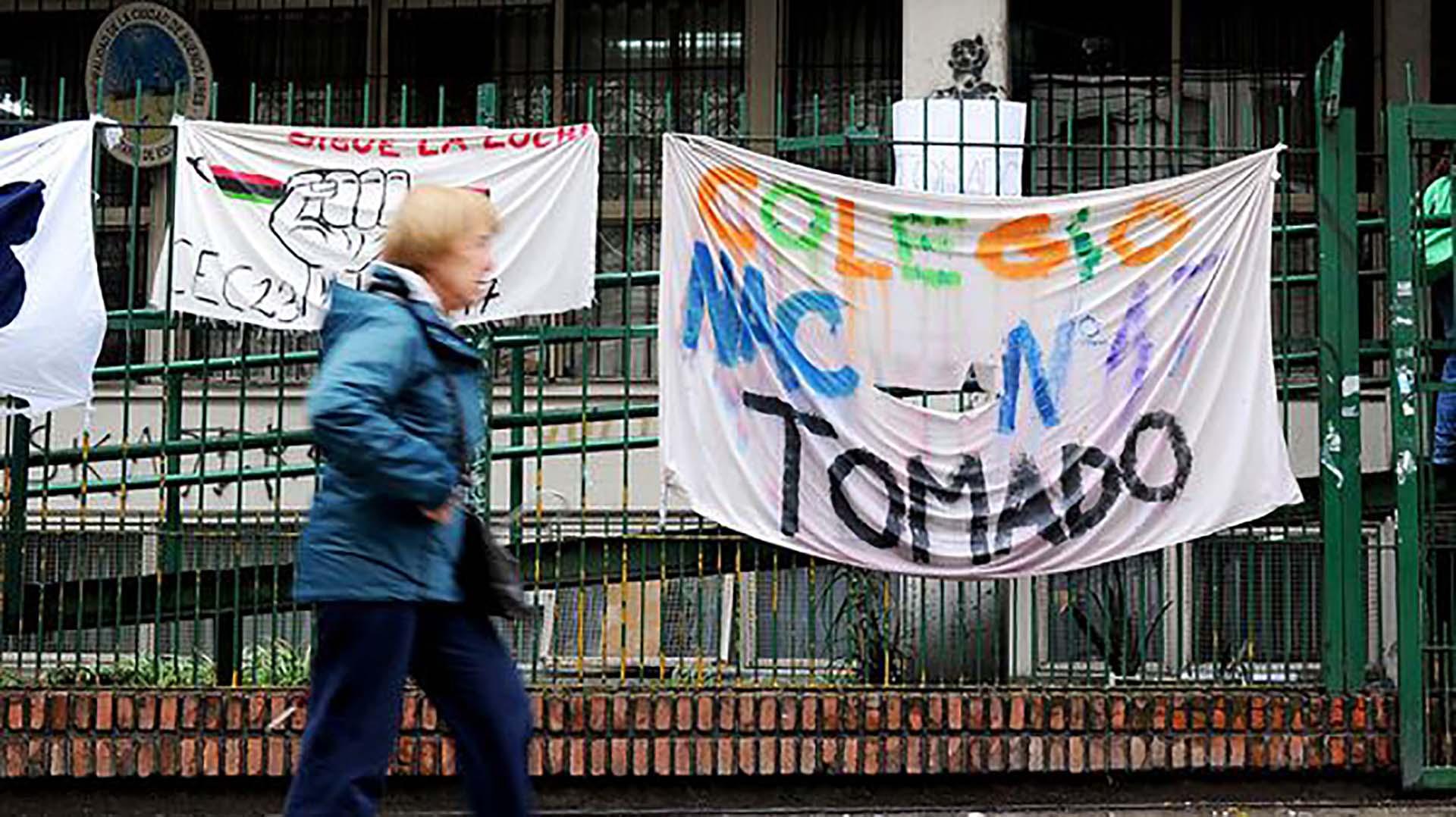 El conflicto por la reforma educativa comenzó a principio de septiembre (Télam)
