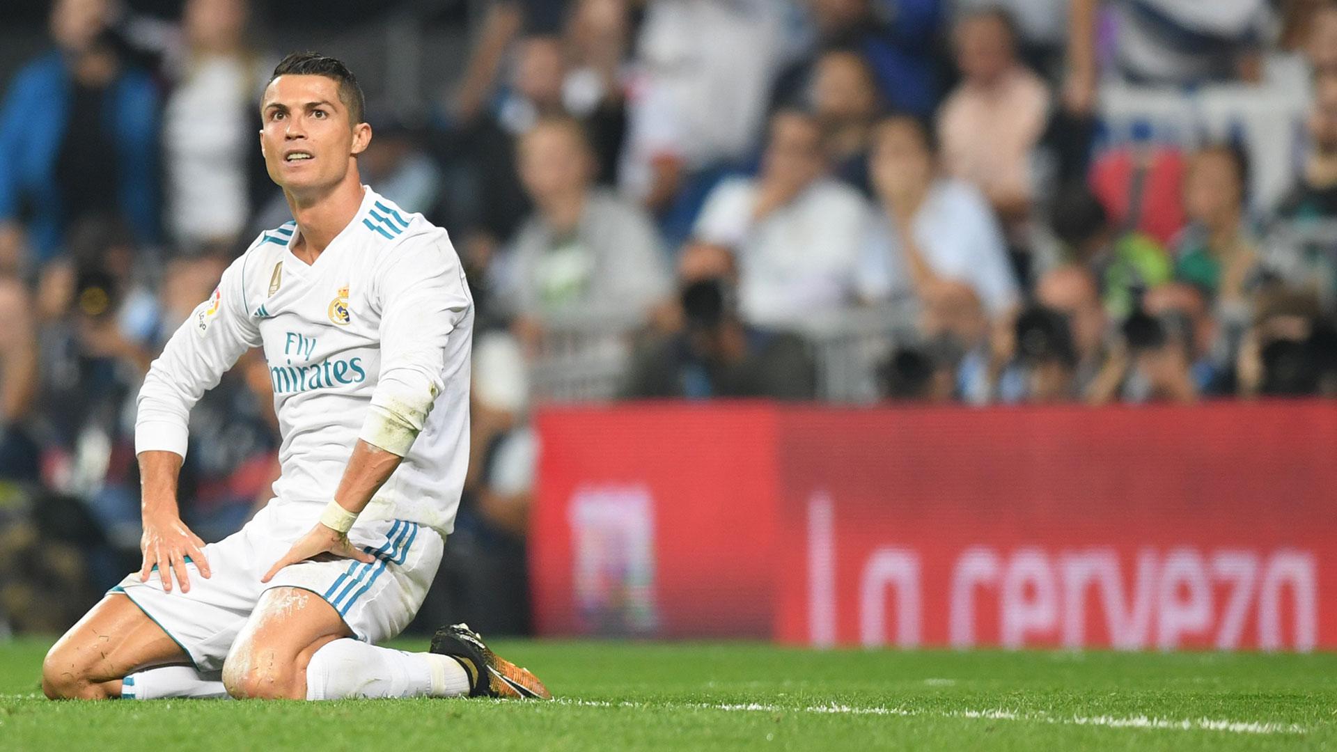 Ronaldo, rendido ante sus fallas