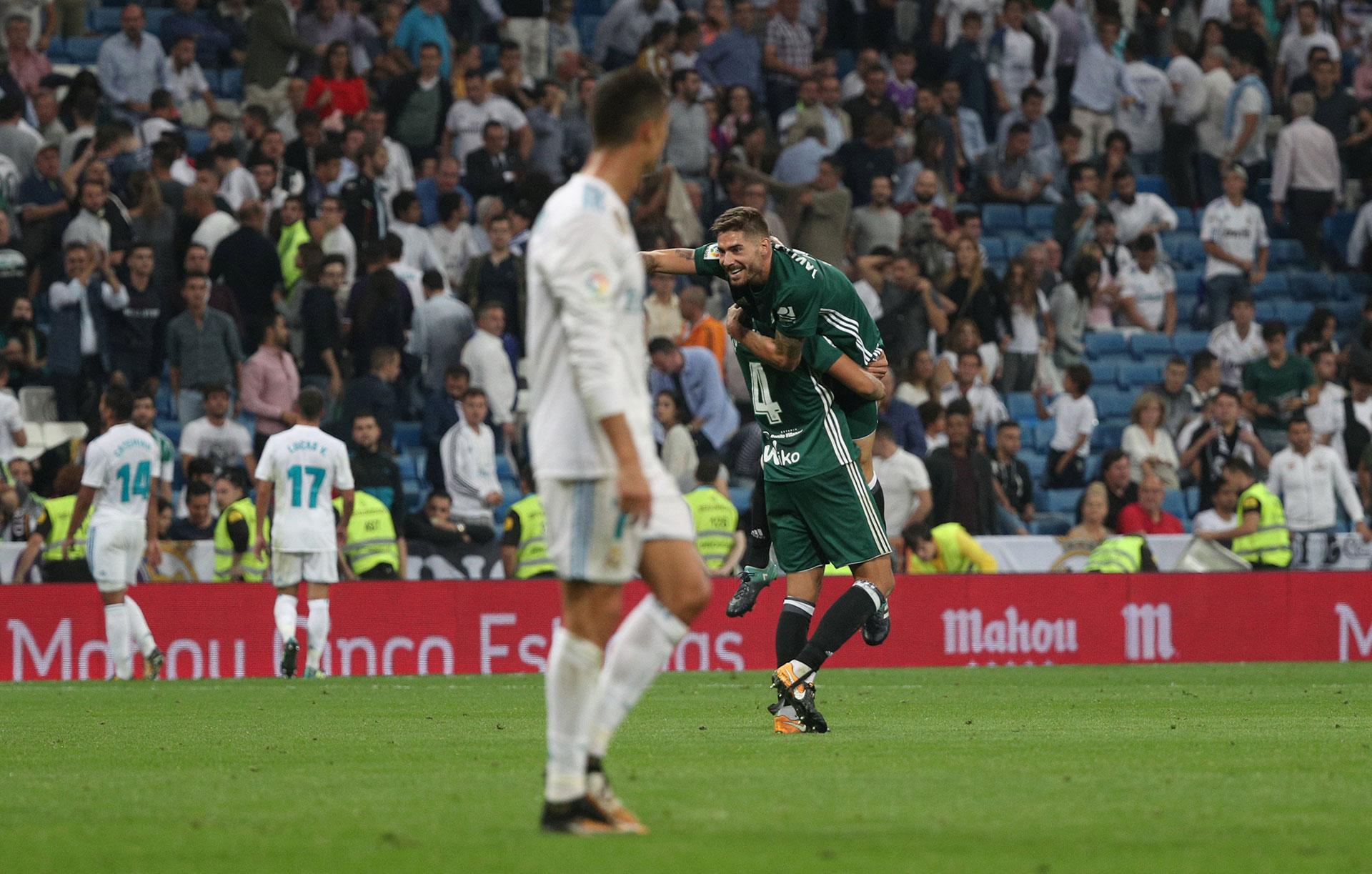 Cristiano observa cómo se le escapa un partido insólito en su estadio