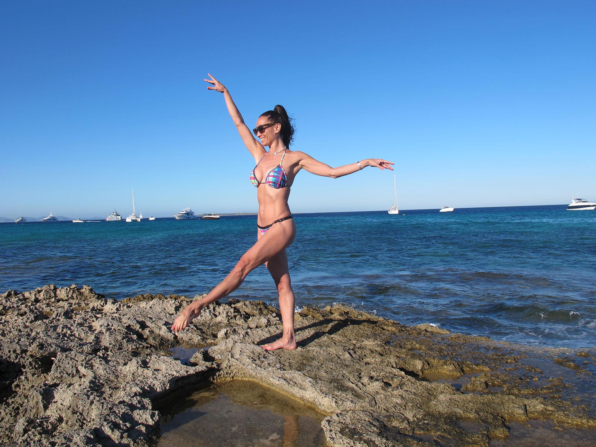 Godoy bailó en el mítico Odeón de Herodes Ático situado en la Acrópolis griega