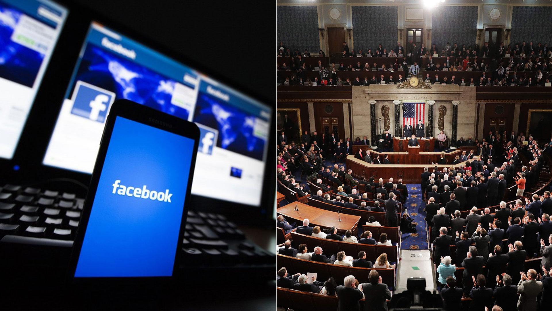 El CEO de Facebook dará testimonio ante el Congreso de EEUU