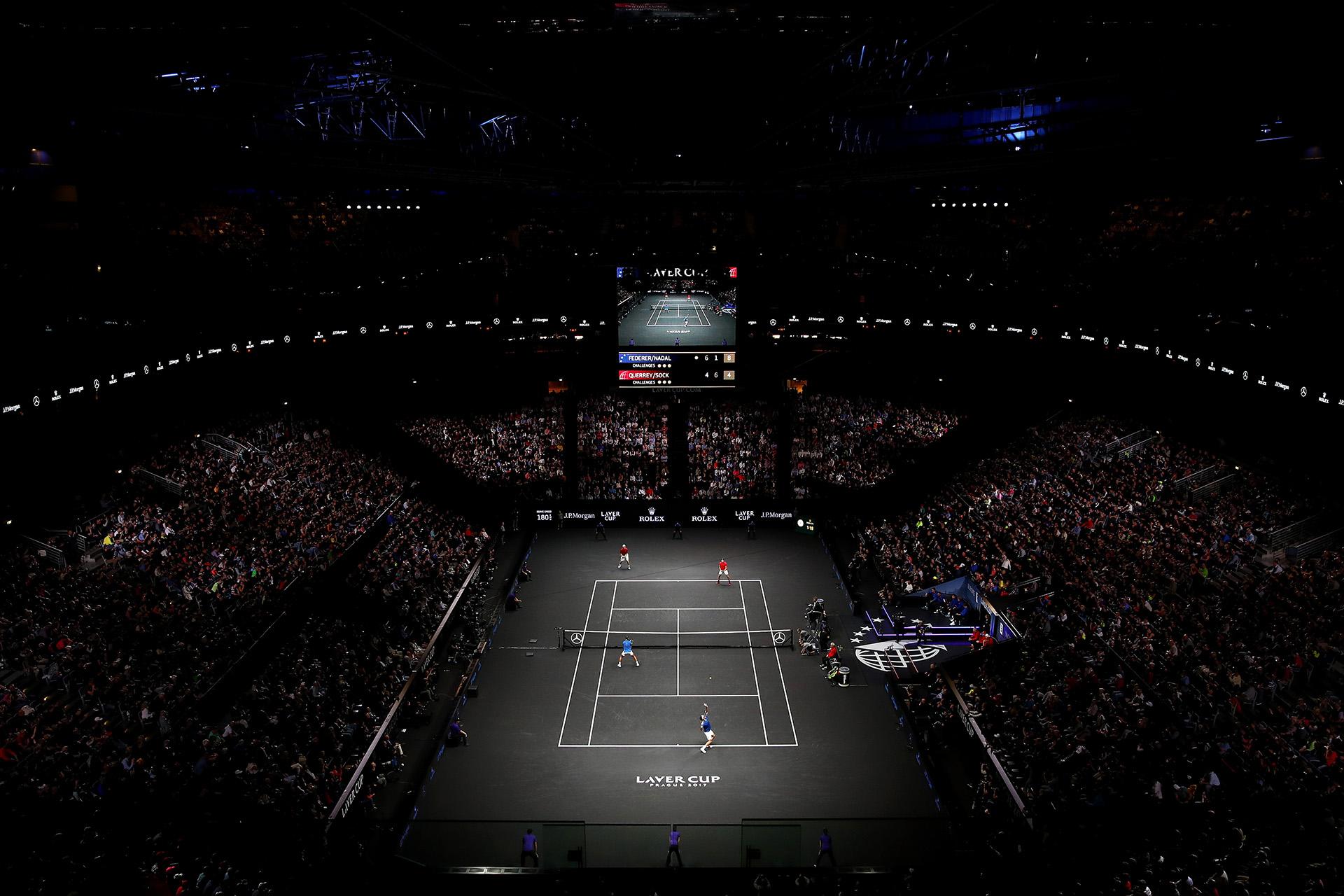 LaLaver Cupfue creda porla agencia Team 8, encabezada porRoger Federer
