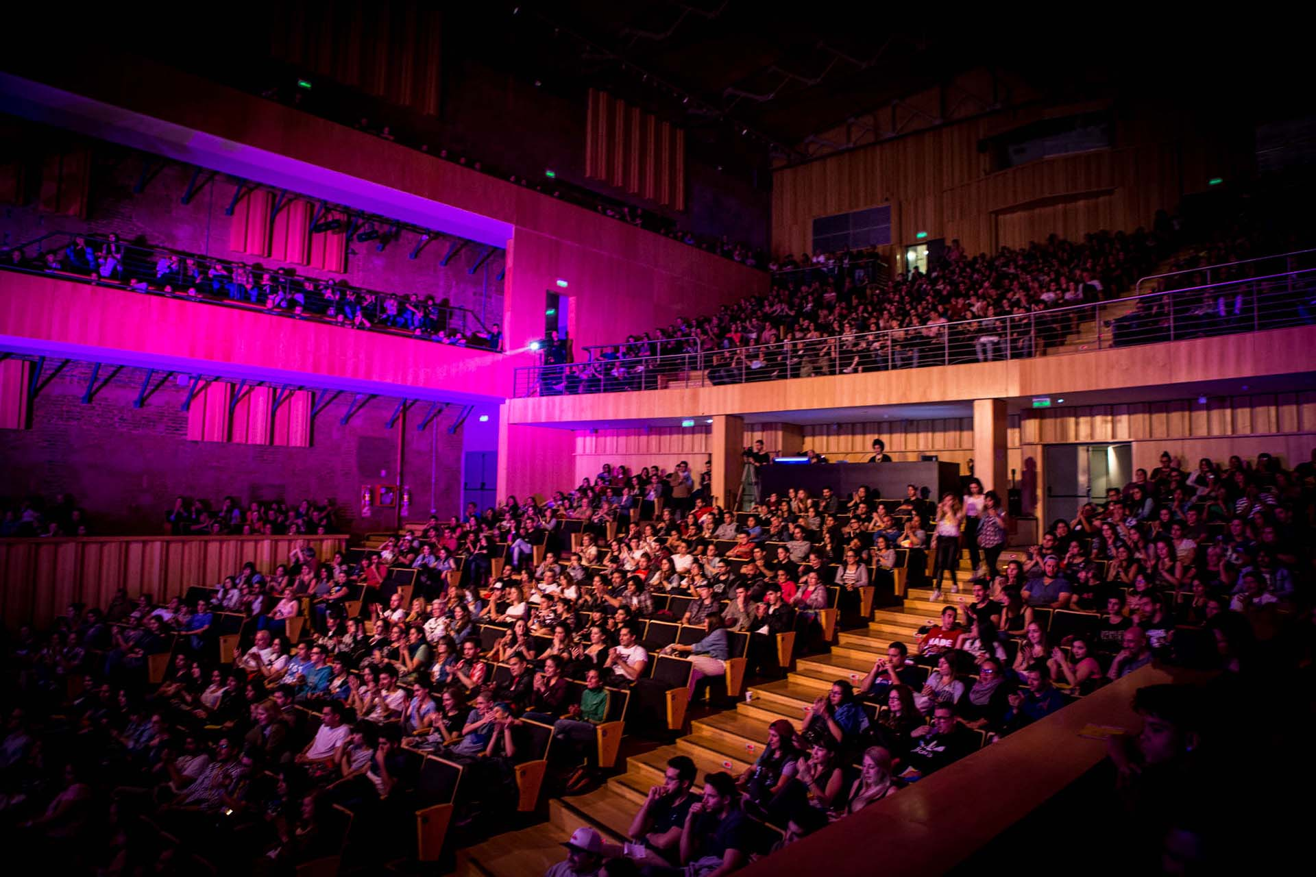 Auditorio Transformador a sala llena