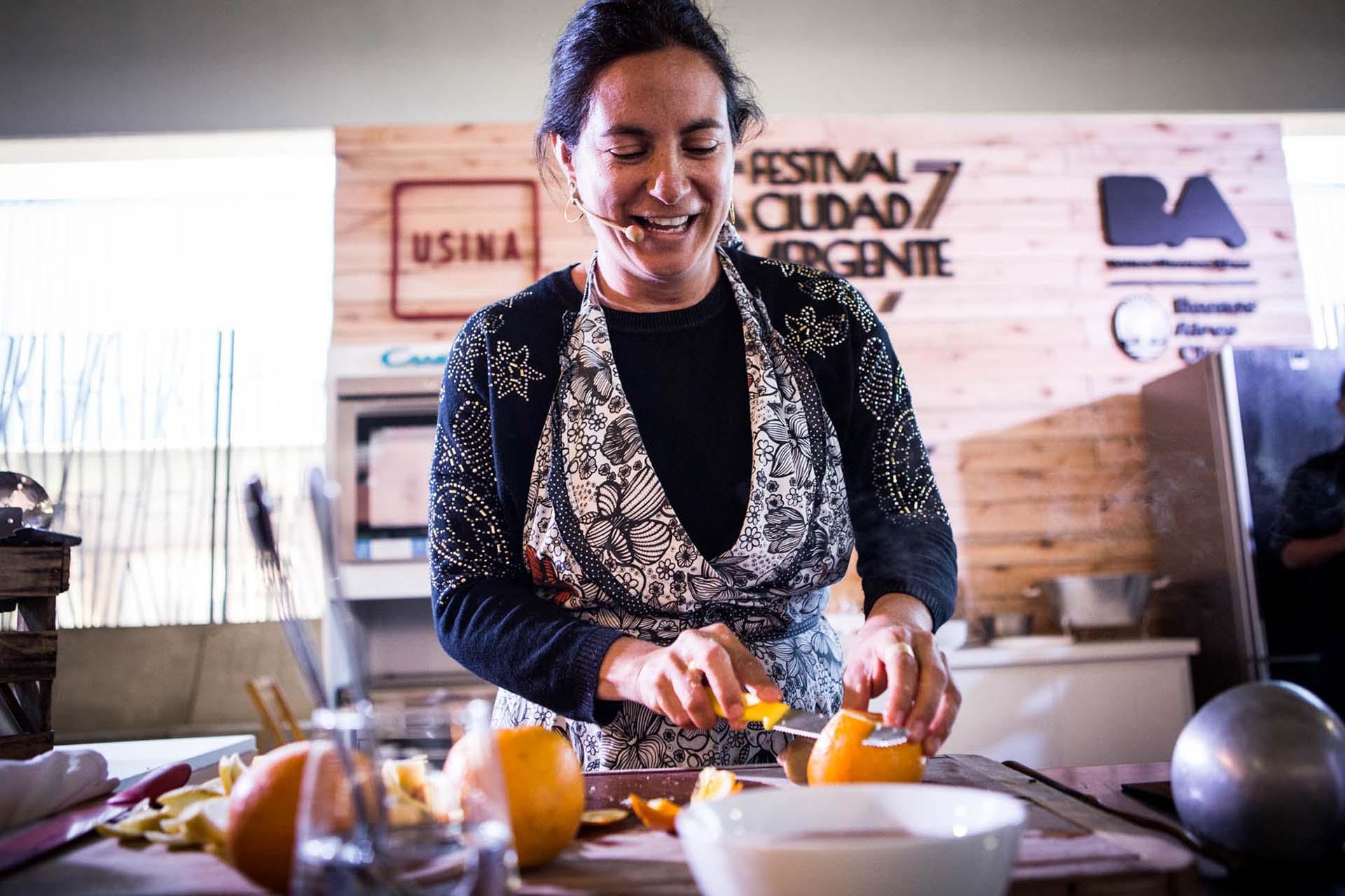 La chef Juliana López May