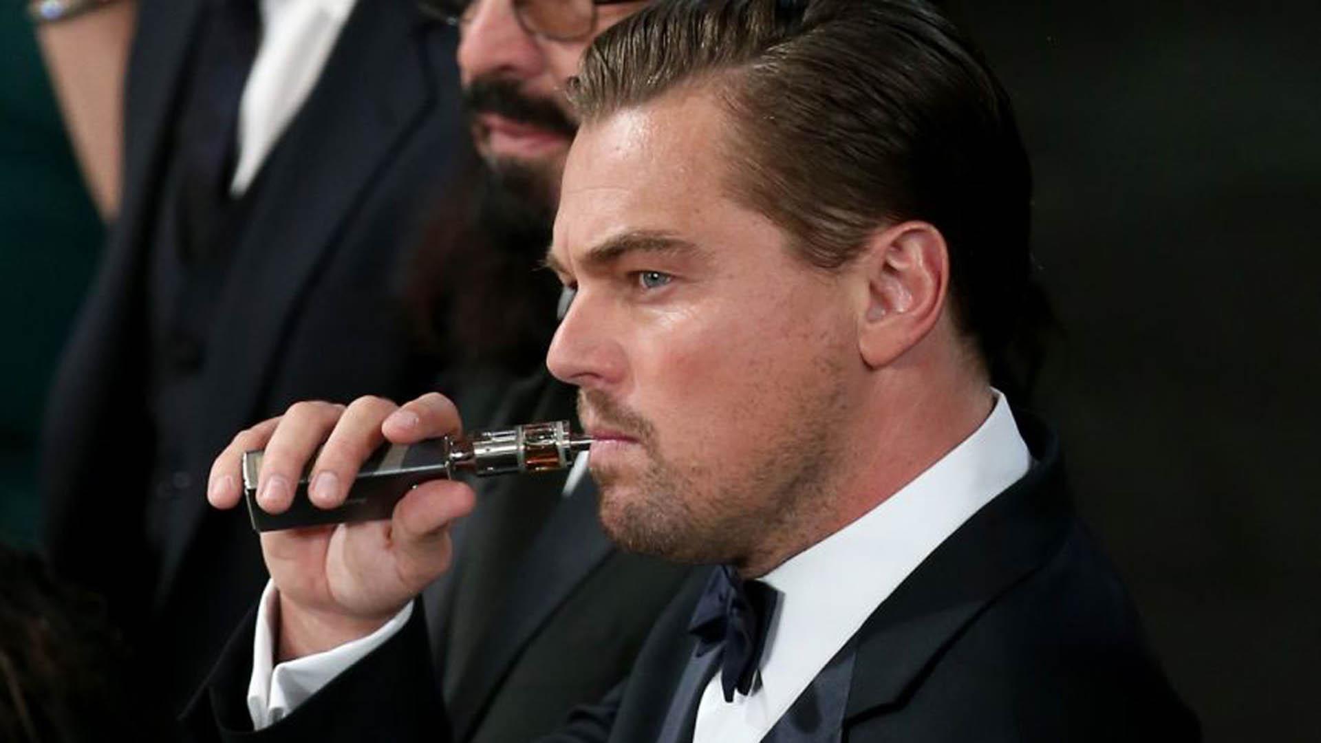 Leonardo Di Caprio es uno de los consumidores de esta particular forma de fumar