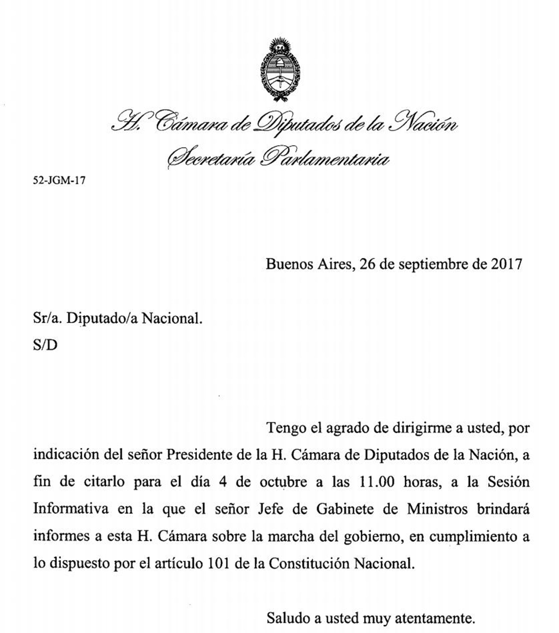 Diputados citó a Marcos Peña para la última sesión antes de las ...