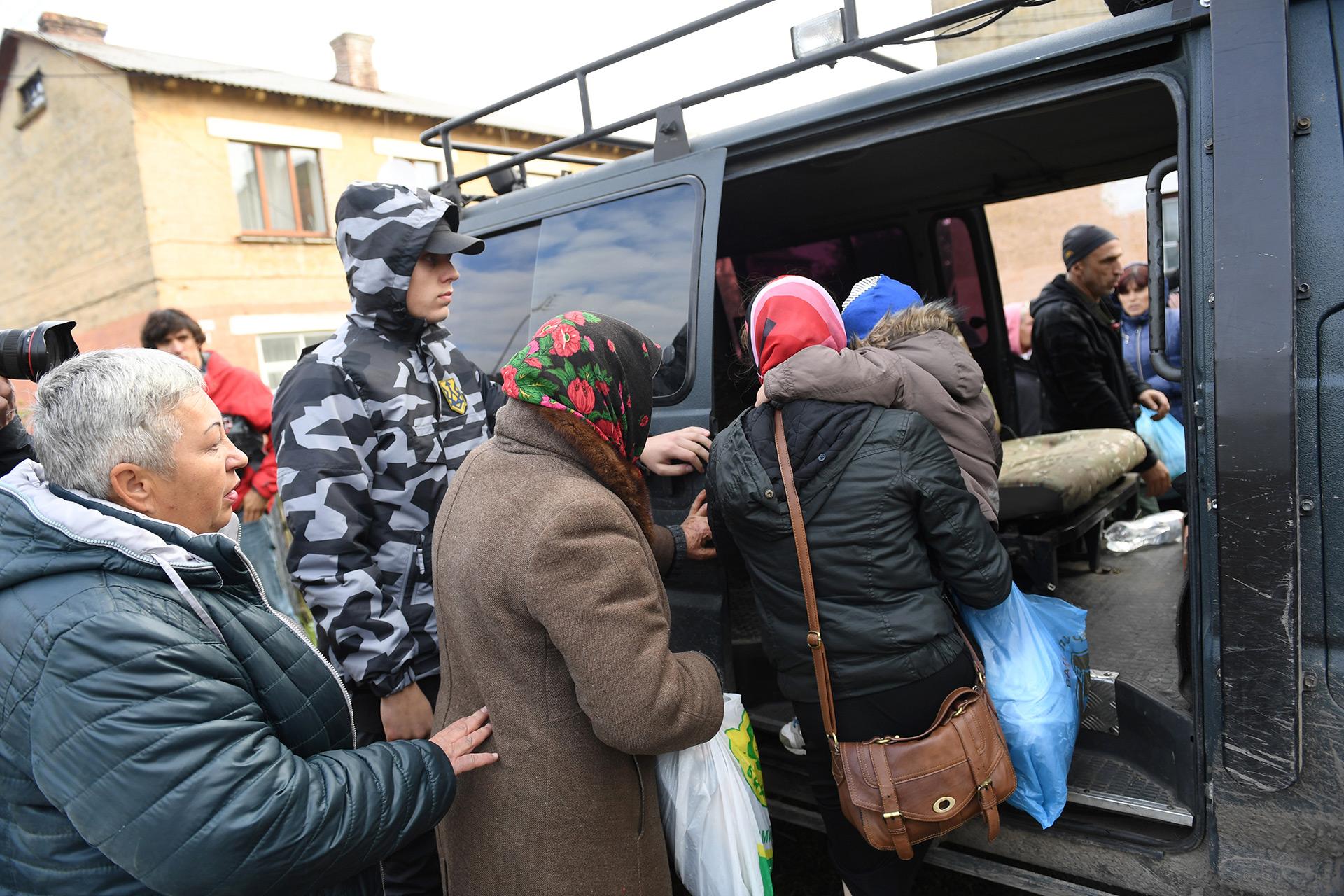 Más de 30.000 personas fueron evacuadas (AFP)