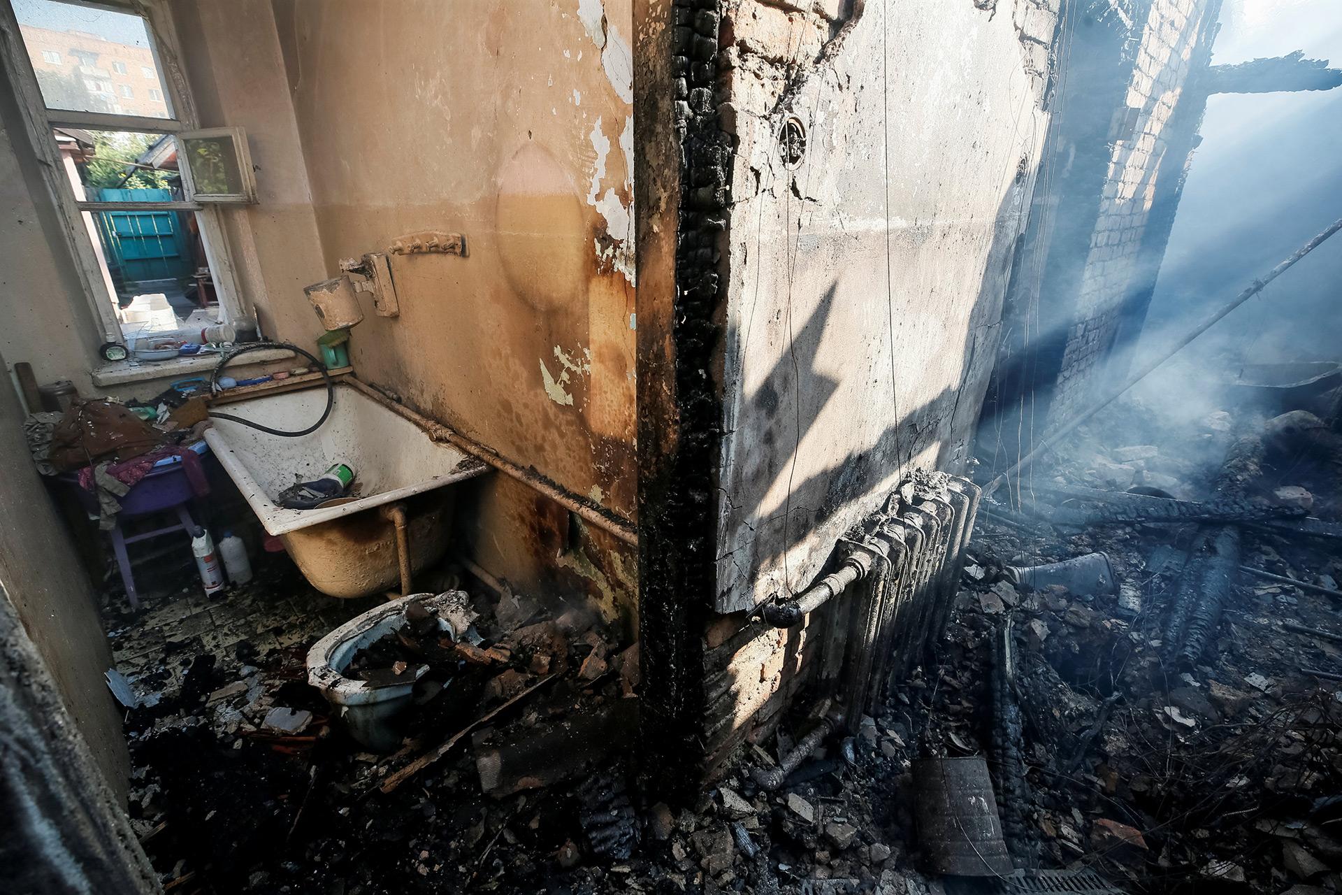 Los destrozos ocurrieron en la región de Vínnytsia (Reuters)
