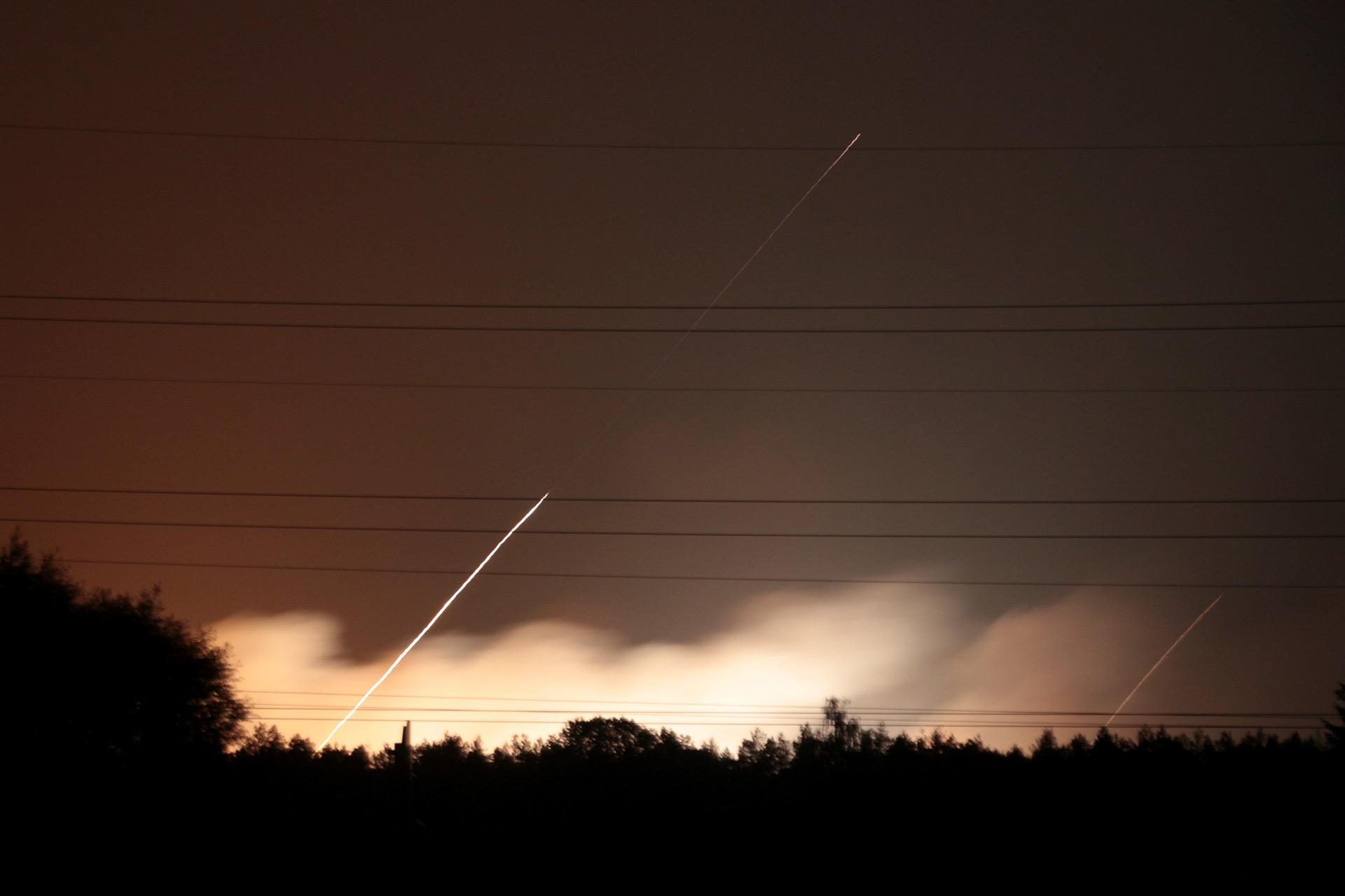 Entre las municiones había también cohetes (Reuters)
