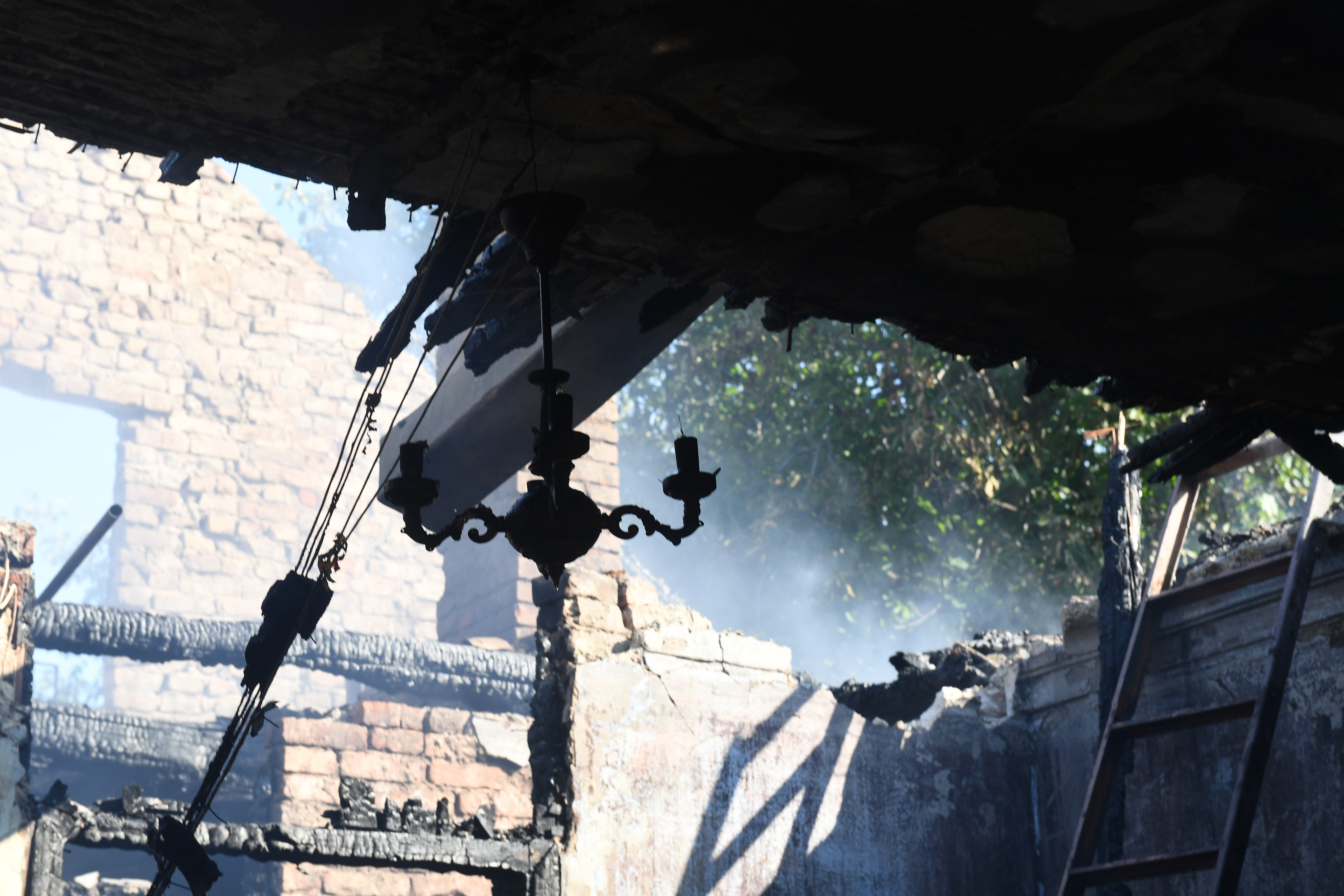 Muchas personas perdieron todo lo que tenían (AFP)