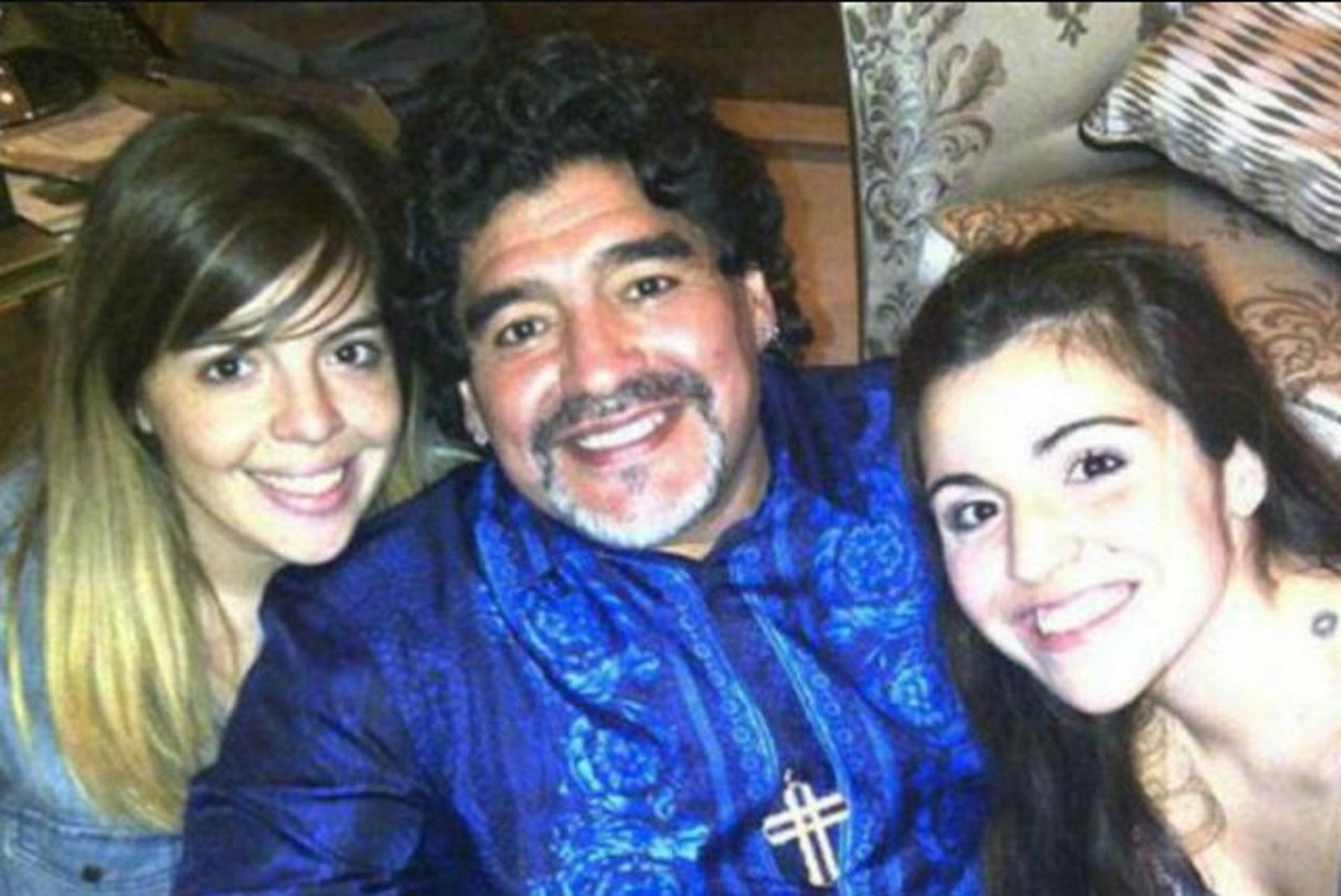 Dalma, Diego y Gianinna